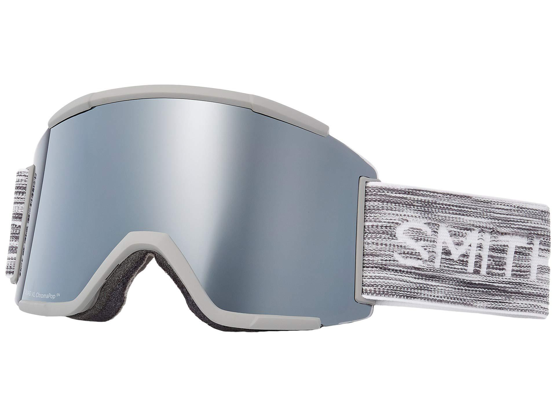 b7dc143b77 Lyst - Smith Optics Squad Xl Goggle (cloud Grey chromapop Sun ...