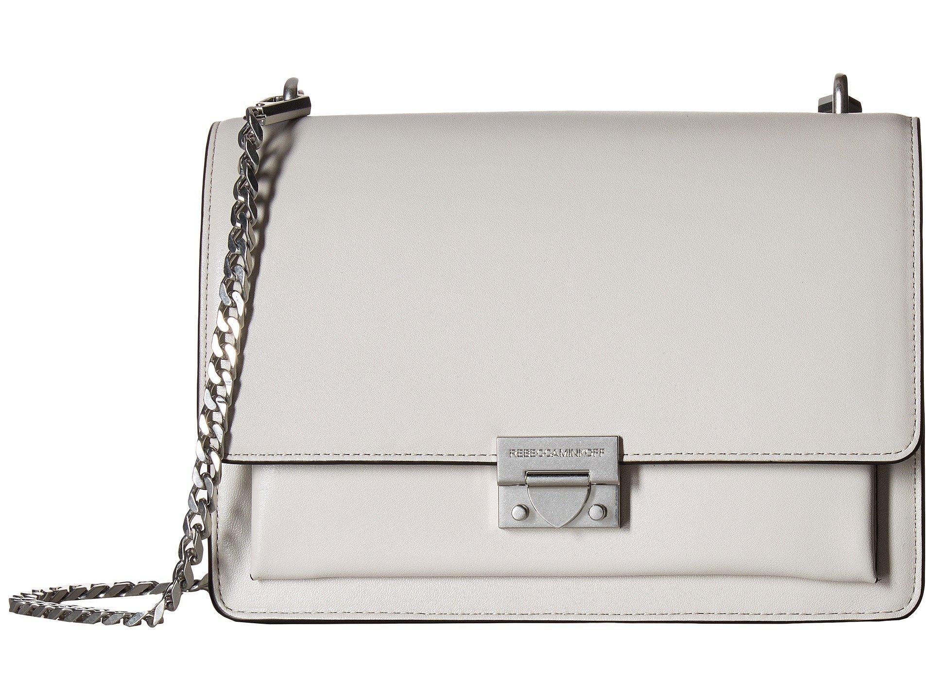 c0725c70d8f56 Rebecca Minkoff. Women s Christy Medium Shoulder Bag (putty) Handbags
