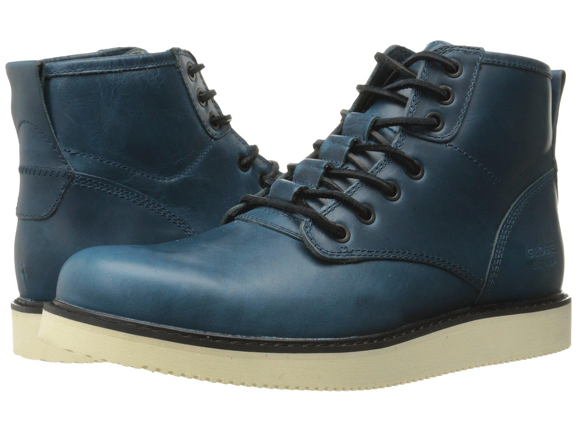 68e97526ff0d Globe Blue Nomad Boot (navy) Boots for men