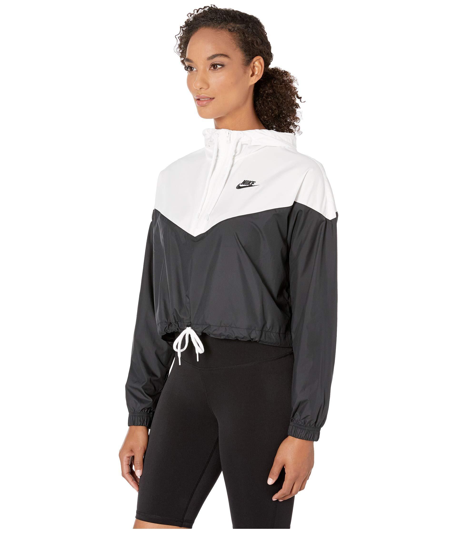Heritage Sportswear Heritage Coat WindbreakerblackwhiteblackWomen's Sportswear Jacket sQxChrdt