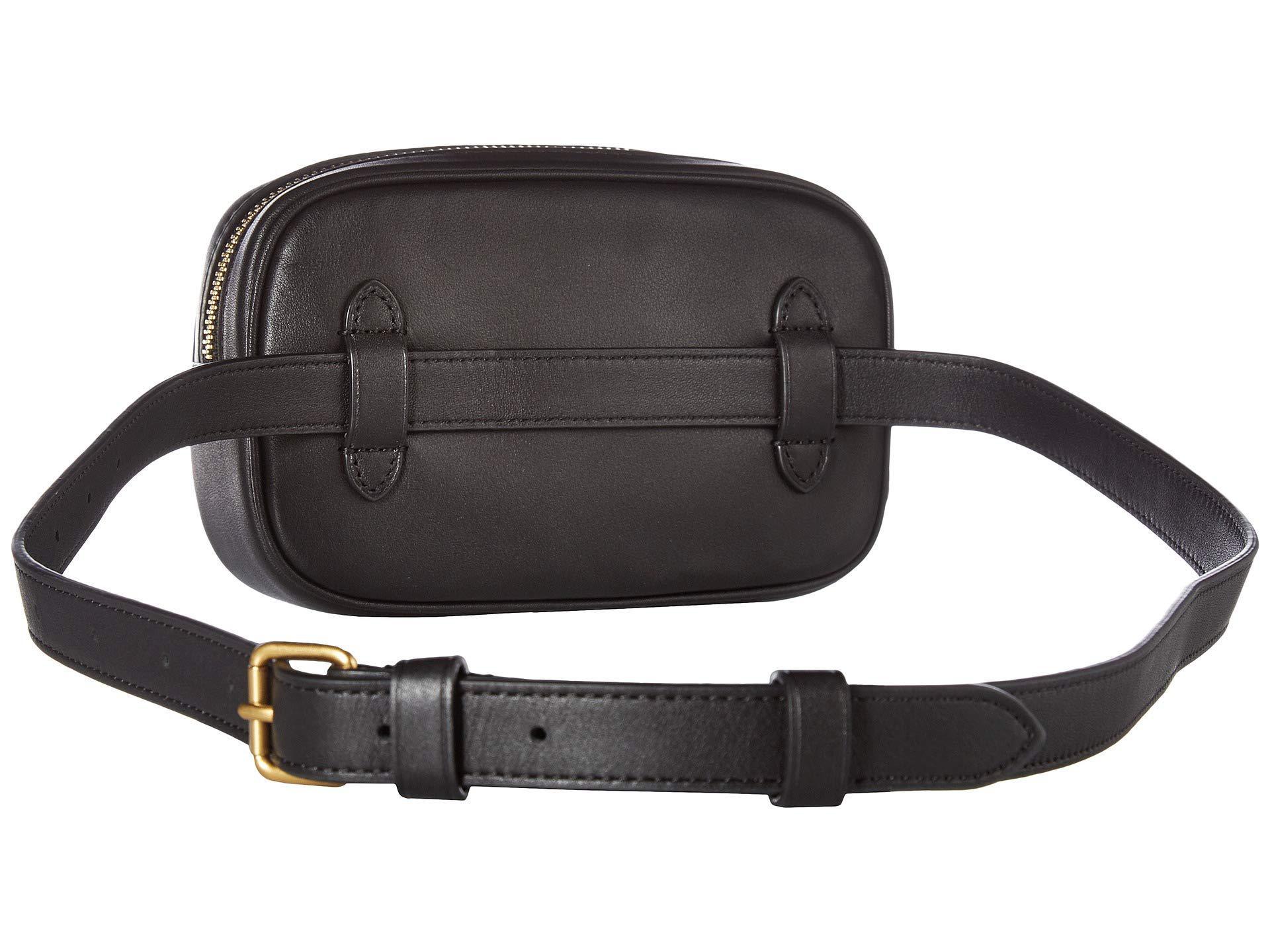 91a3003aee COACH Deco Quilting Dressy Belt Bag (b4/black) Wallet