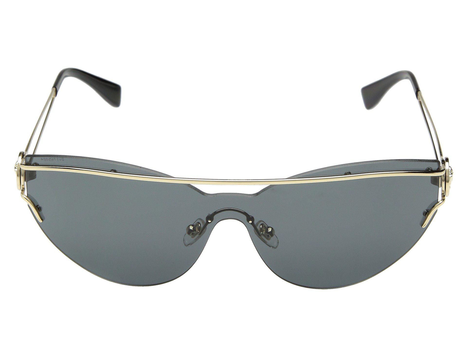 868c3e882579 Lyst - Versace Ve2186 (pale Gold grey) Fashion Sunglasses in Gray