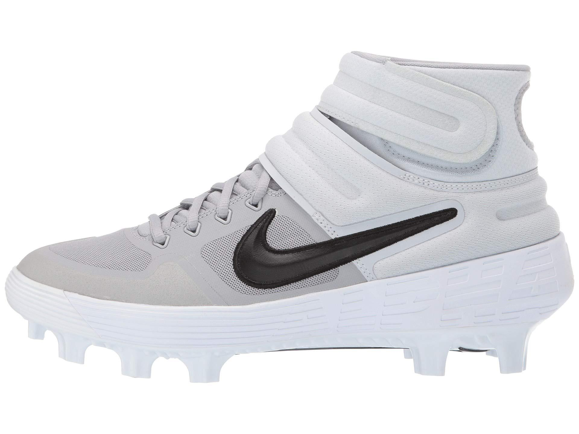 977d3db28d46 Lyst - Nike Alpha Huarache Elite 2 Mid Mcs (game Royal white gym Blue) Men s  Cleated Shoes for Men