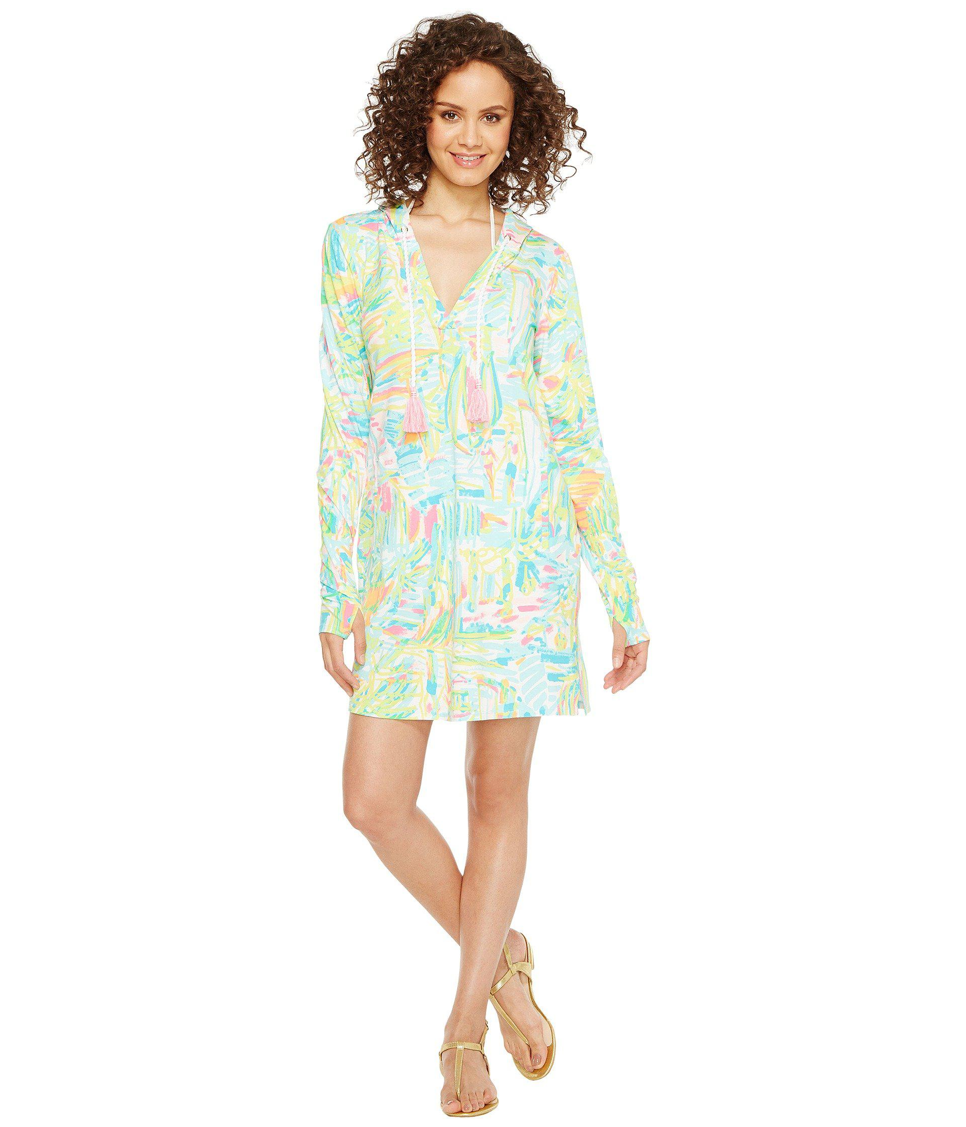 fa1ae62c26 Lilly Pulitzer Upf 50+ Rylie Cover-up Dress (multi Sea Salt And Sun ...