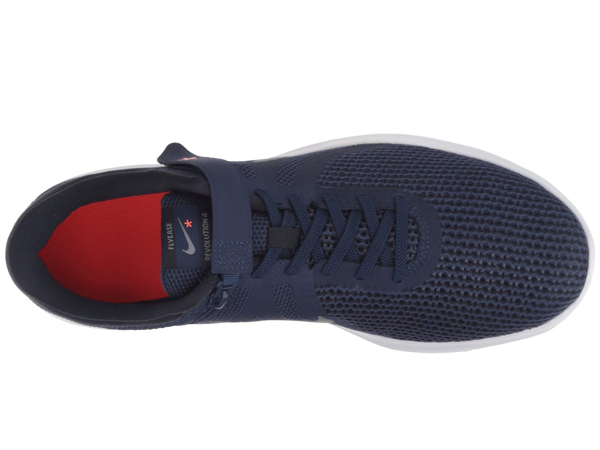 e5626eb5ffc9 Lyst - Nike Revolution 4 Flyease (black white anthracite total ...