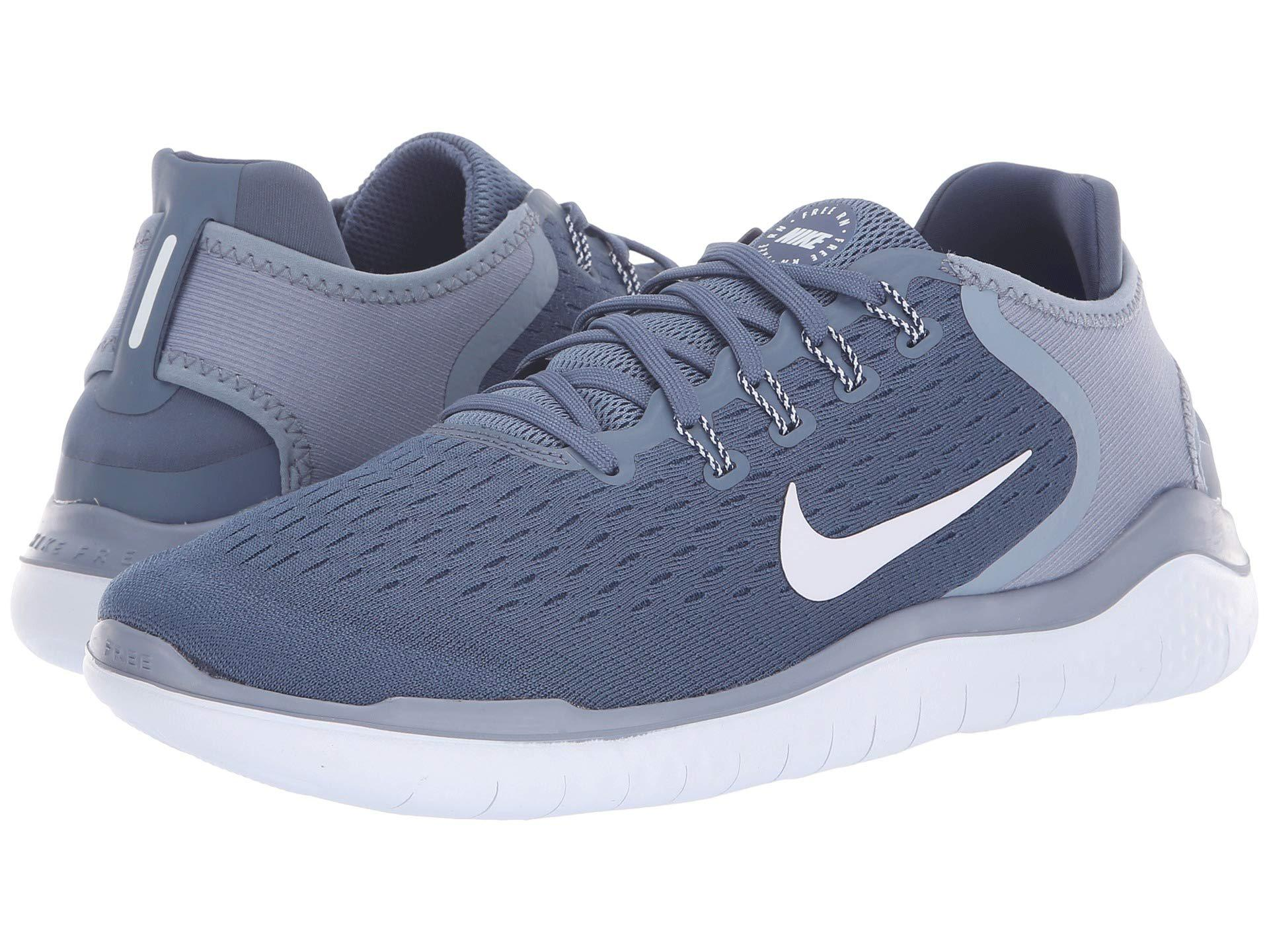 6c844dc0a696 Lyst - Nike Free Rn 2018 (blue Force white green Abyss) Men s ...