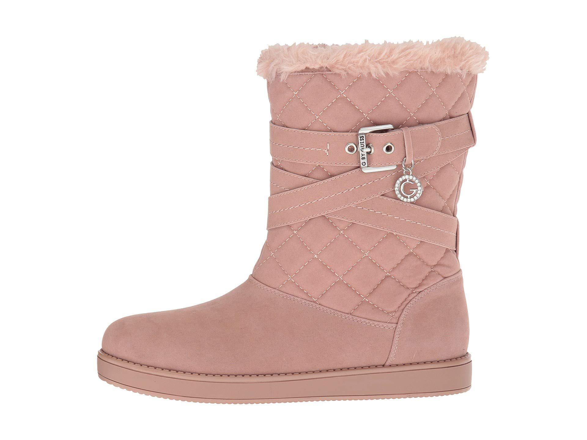 G by Guess Babez (pink Fabric) Shoes - Lyst