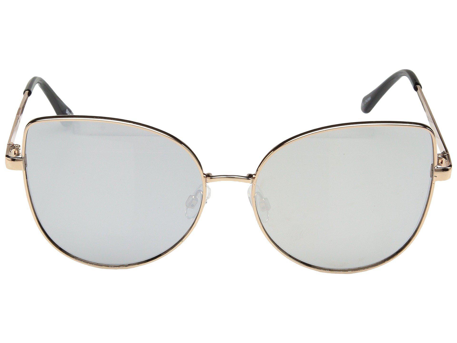 San diego hat company Metal Frame Cat Eyes Sunglasses in Metallic   Lyst