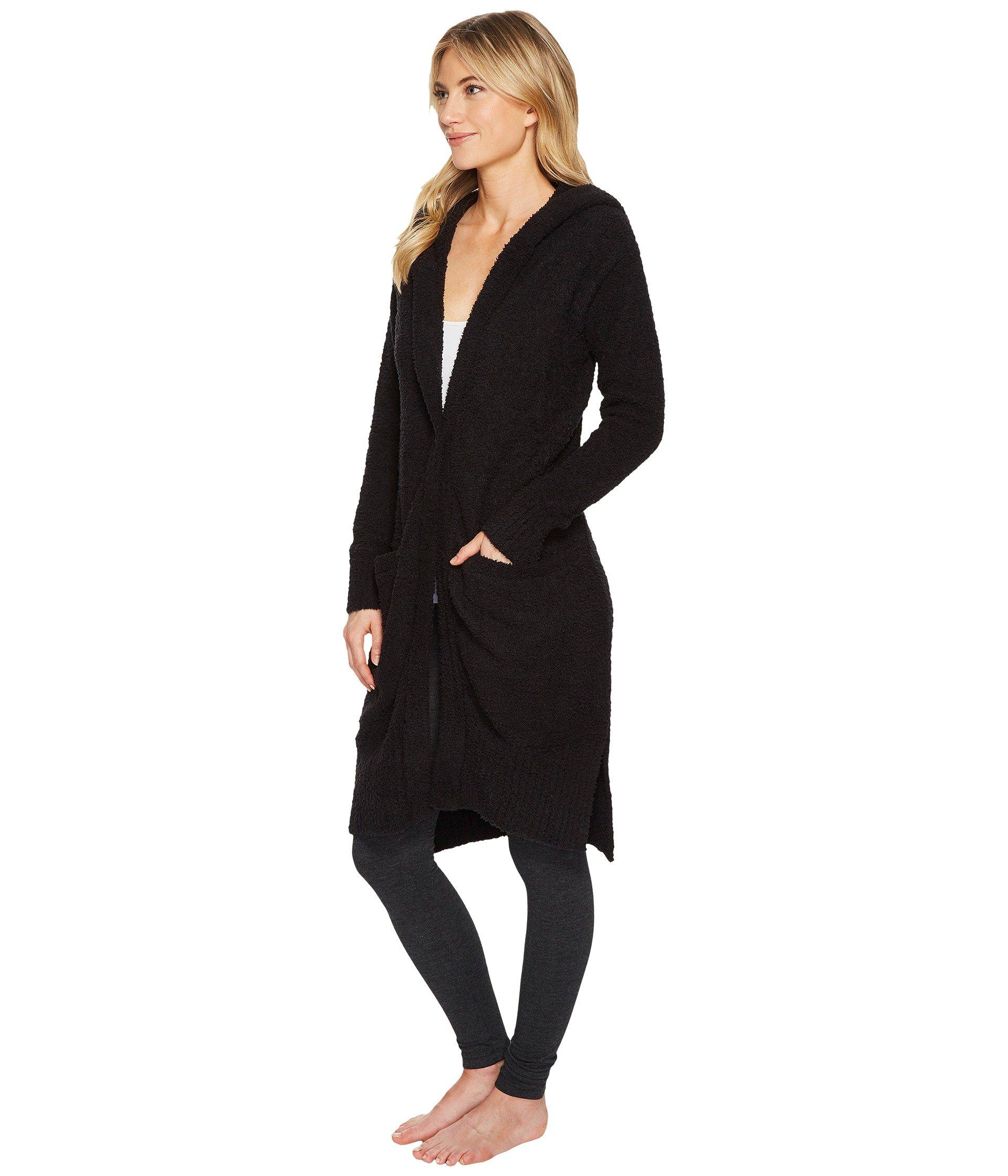 c6e4df2f732 Judith Hooded Cardigan (black 1) Women's Sweater