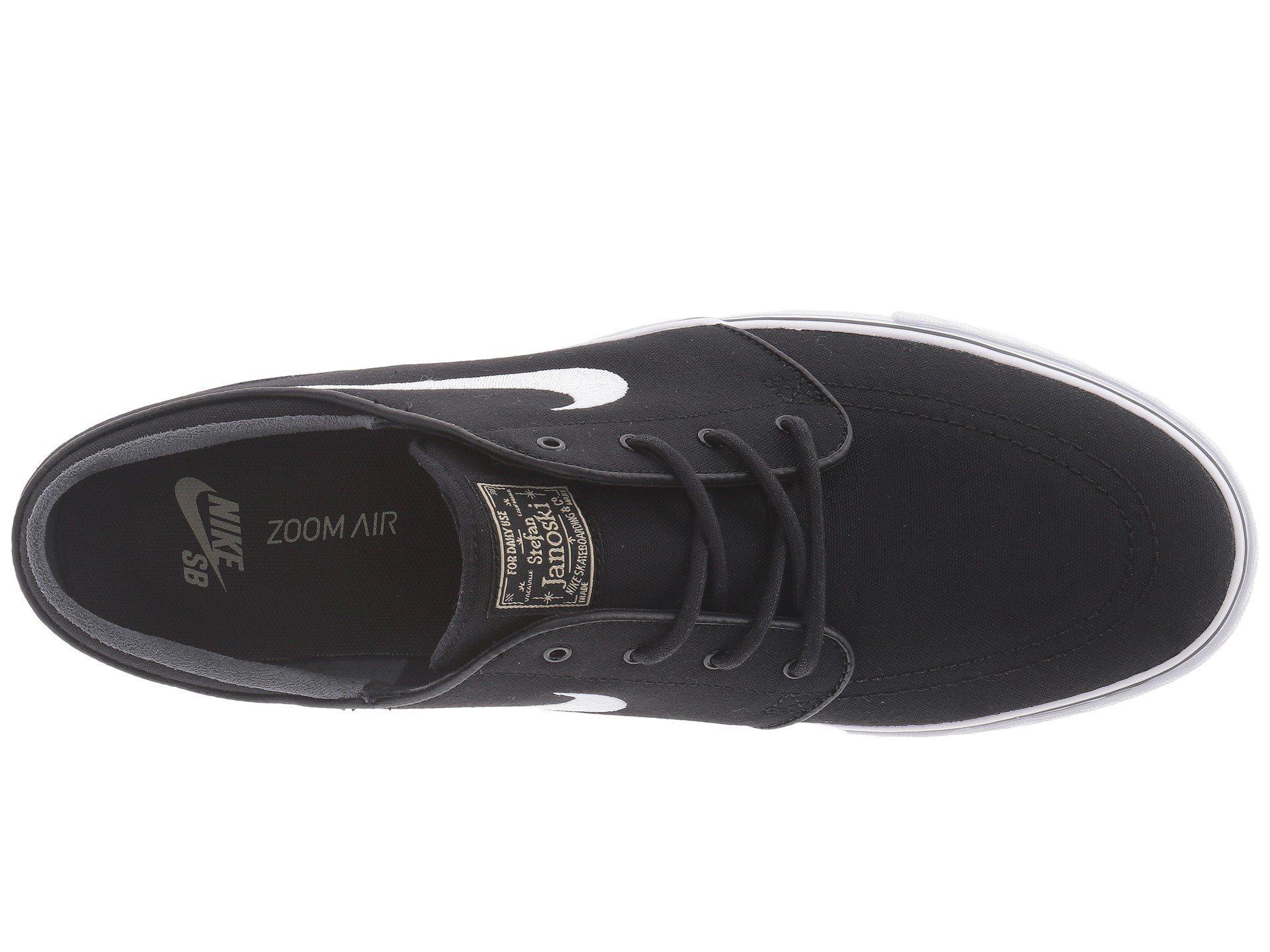 a3dc914555ed78 Lyst - Nike Zoom Stefan Janoski Canvas (dark Grey gum Light Brown ...