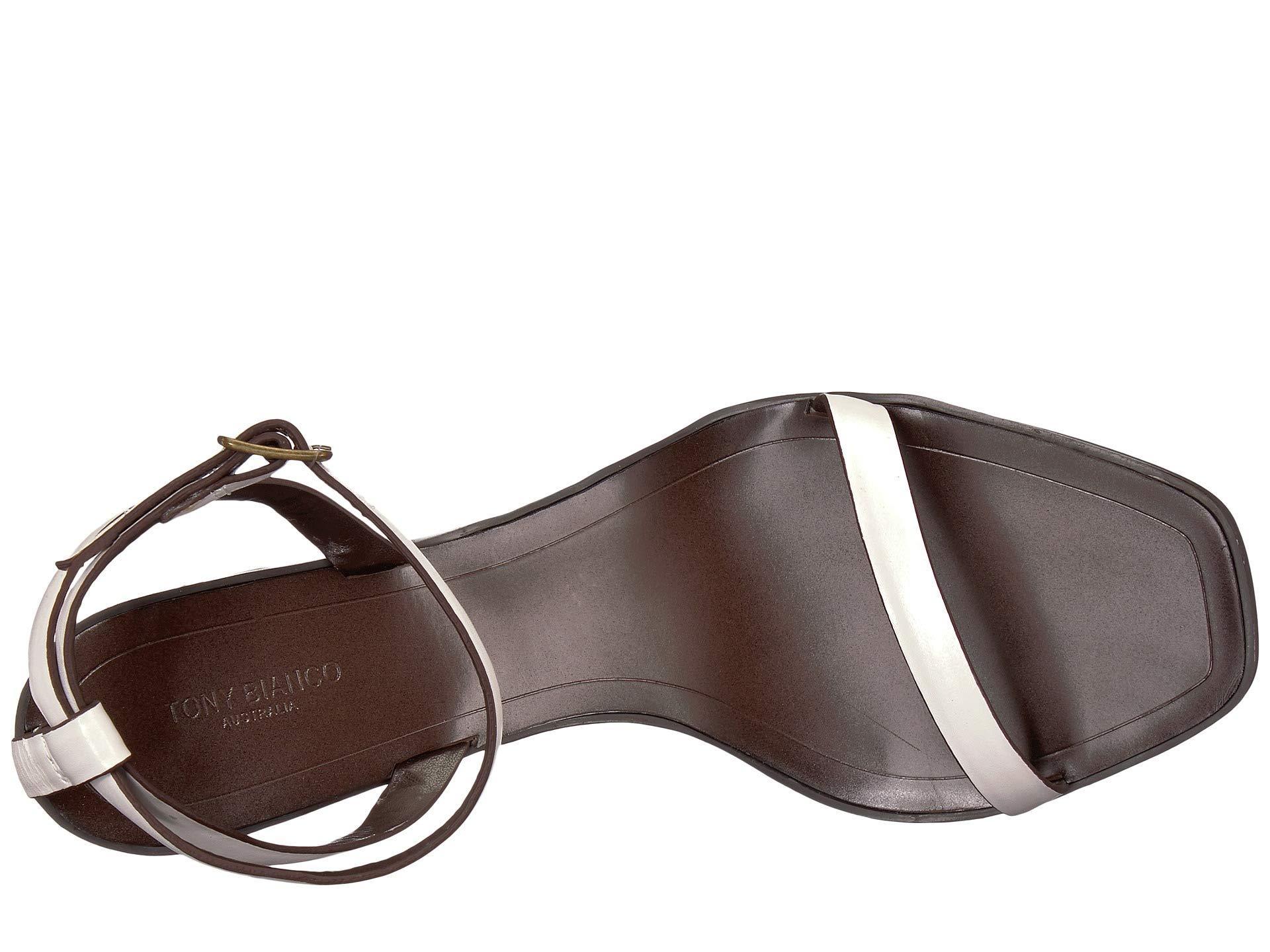 83fead067145 Lyst - Tony Bianco Casadi (white Capretto) Women s Toe Open Shoes
