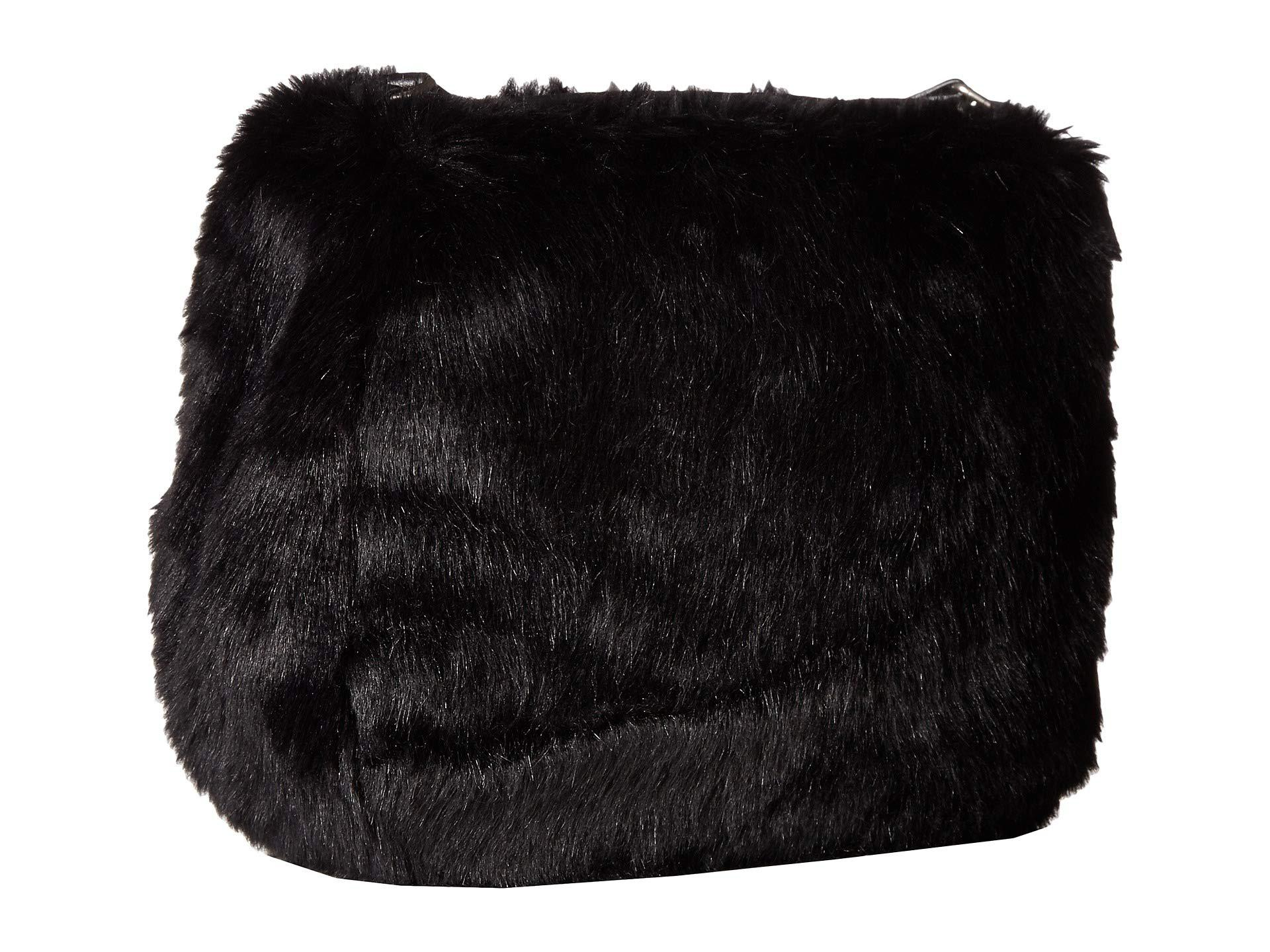 8f756ec39032 Lyst - San Diego Hat Company Bsb3546 Crossbody Fur Handbag With Bug ...
