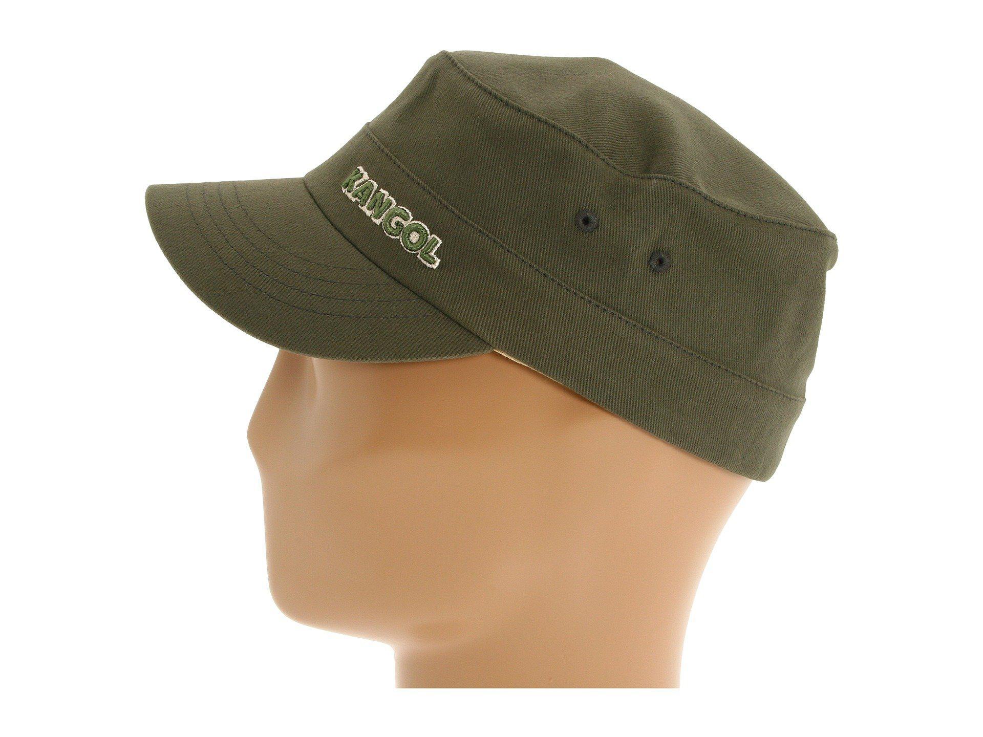 Kangol Cotton Twill Army Cap Uk