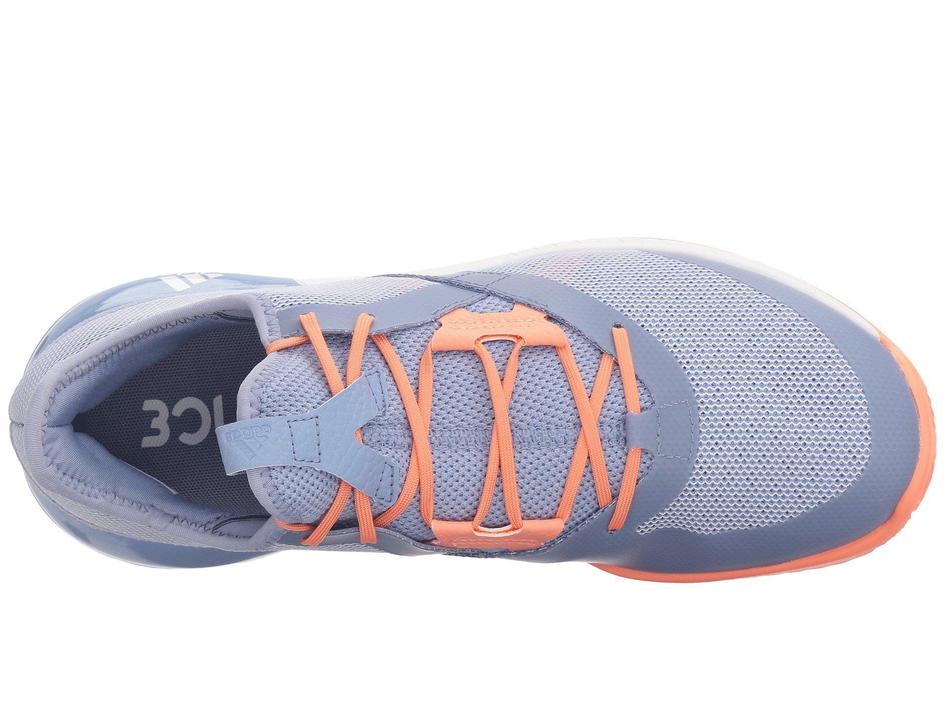 buy popular a03c2 6d0cc Lyst - adidas Adizero Defiant Bounce (legend Inkshock Pinkwh