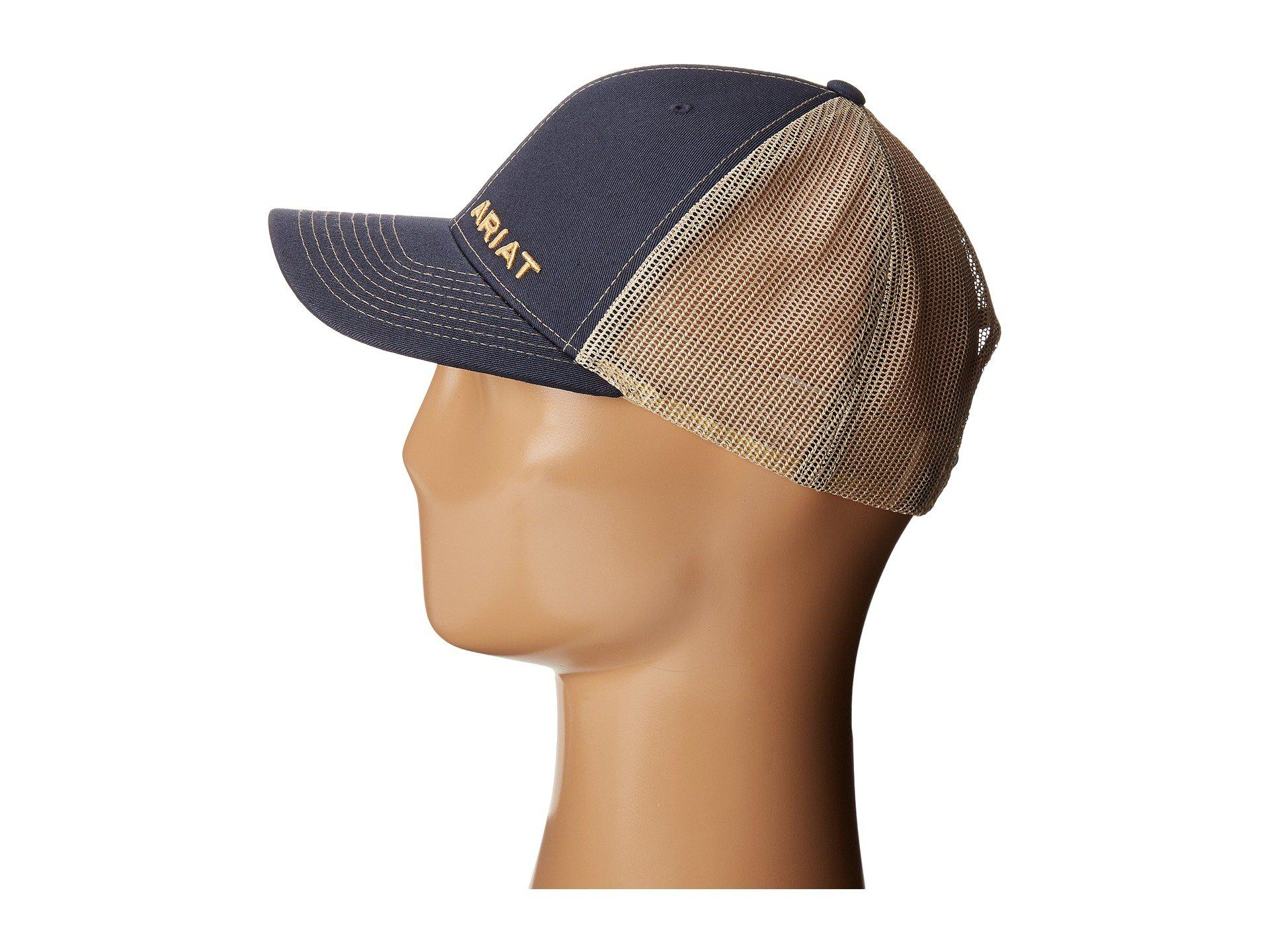 eedc4e559d3 ... uk lyst ariat 1508903 navy cowboy hats in blue for men c6b42 89e12