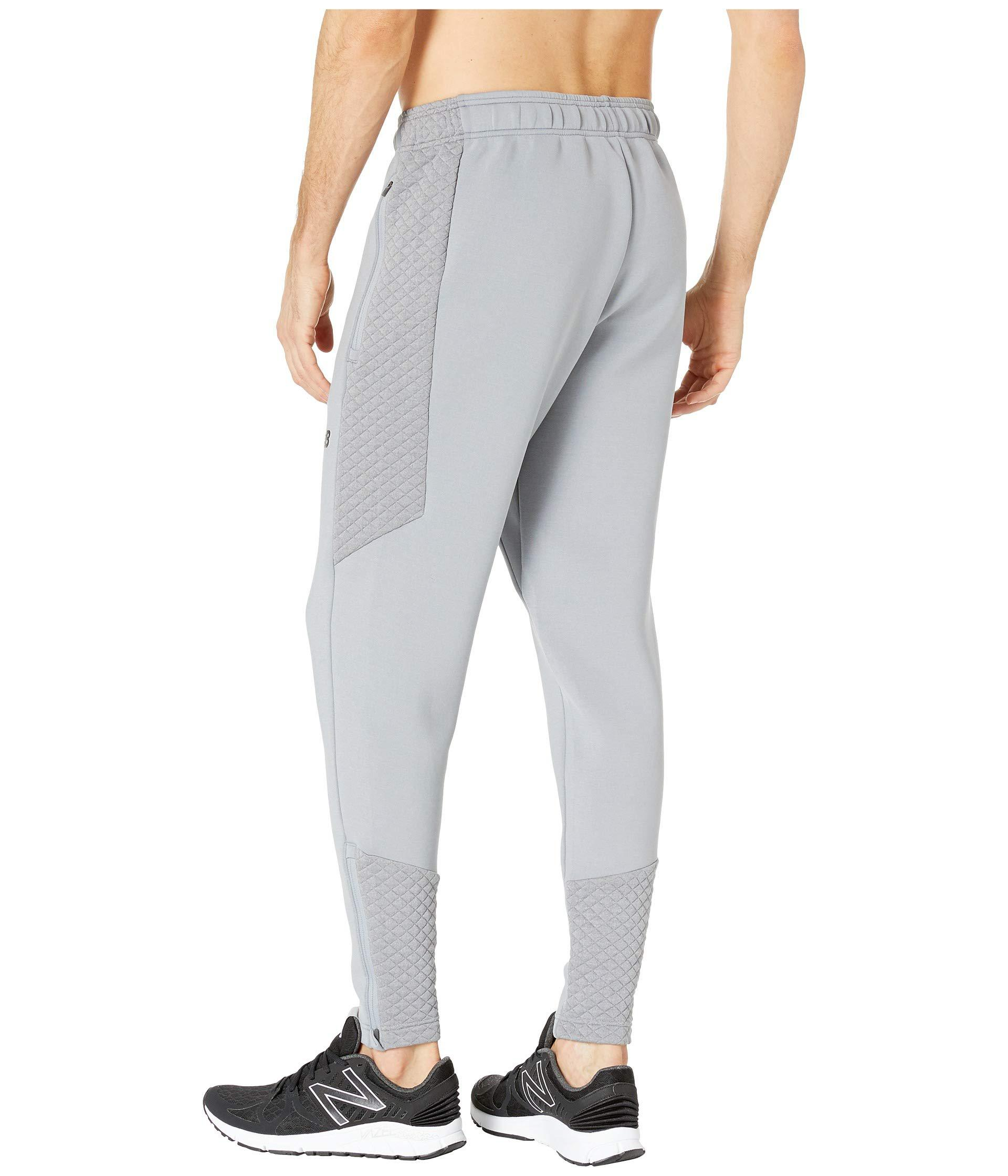 957fe3a2564b3 Men's Gray Nb Heat Loft Pants (athletic Grey) Workout