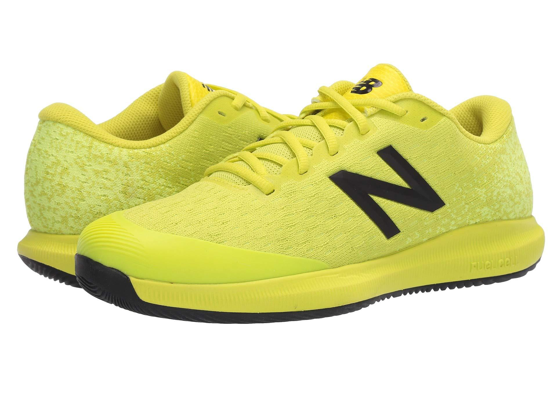 New Balance Synthetic Fuelcell 996v4 Low-top sneakers in Yellow ...