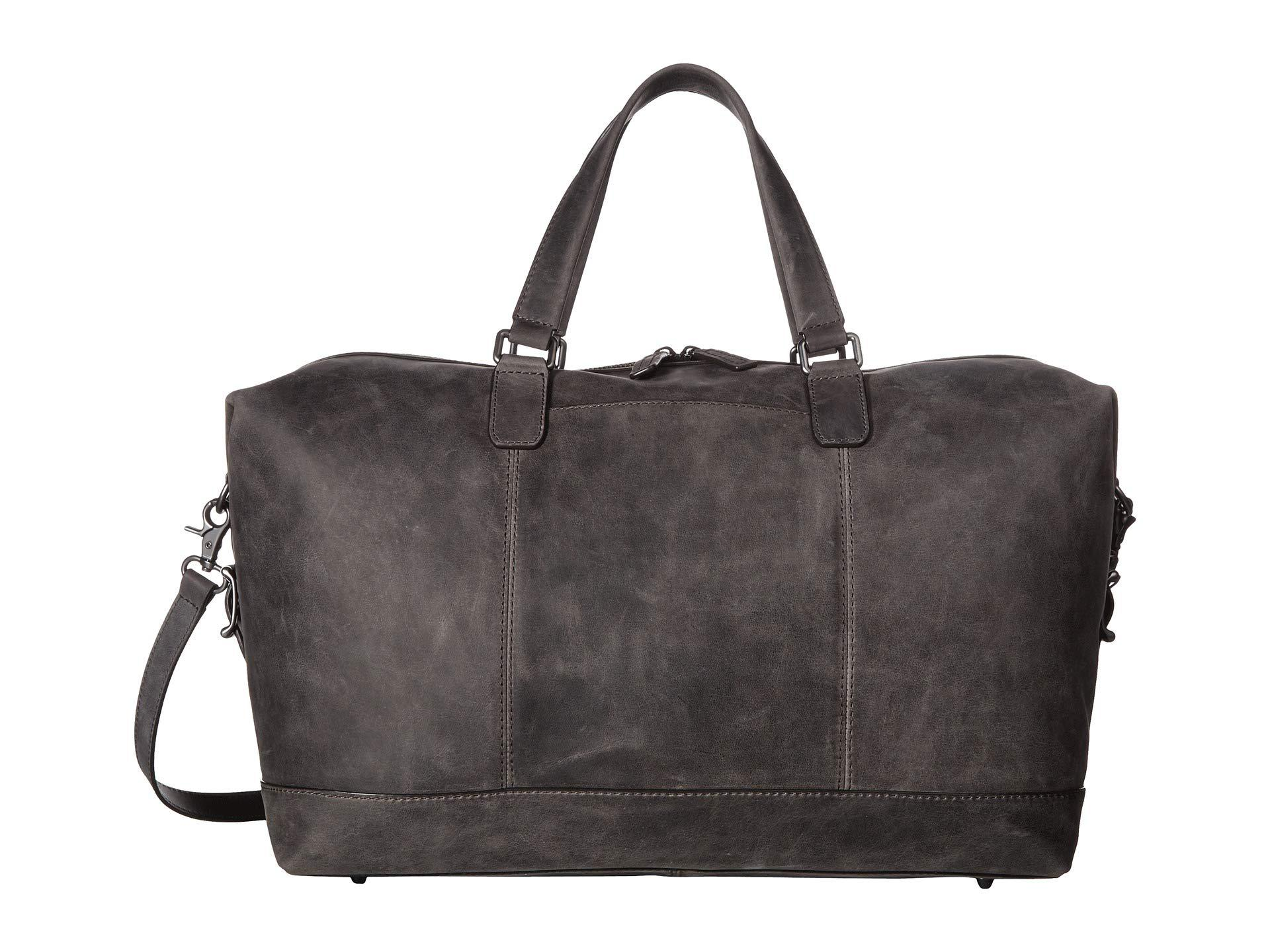 2678ab0f08 Lyst - Frye Oliver Overnight (slate Smooth Pull Up) Bags in Brown ...