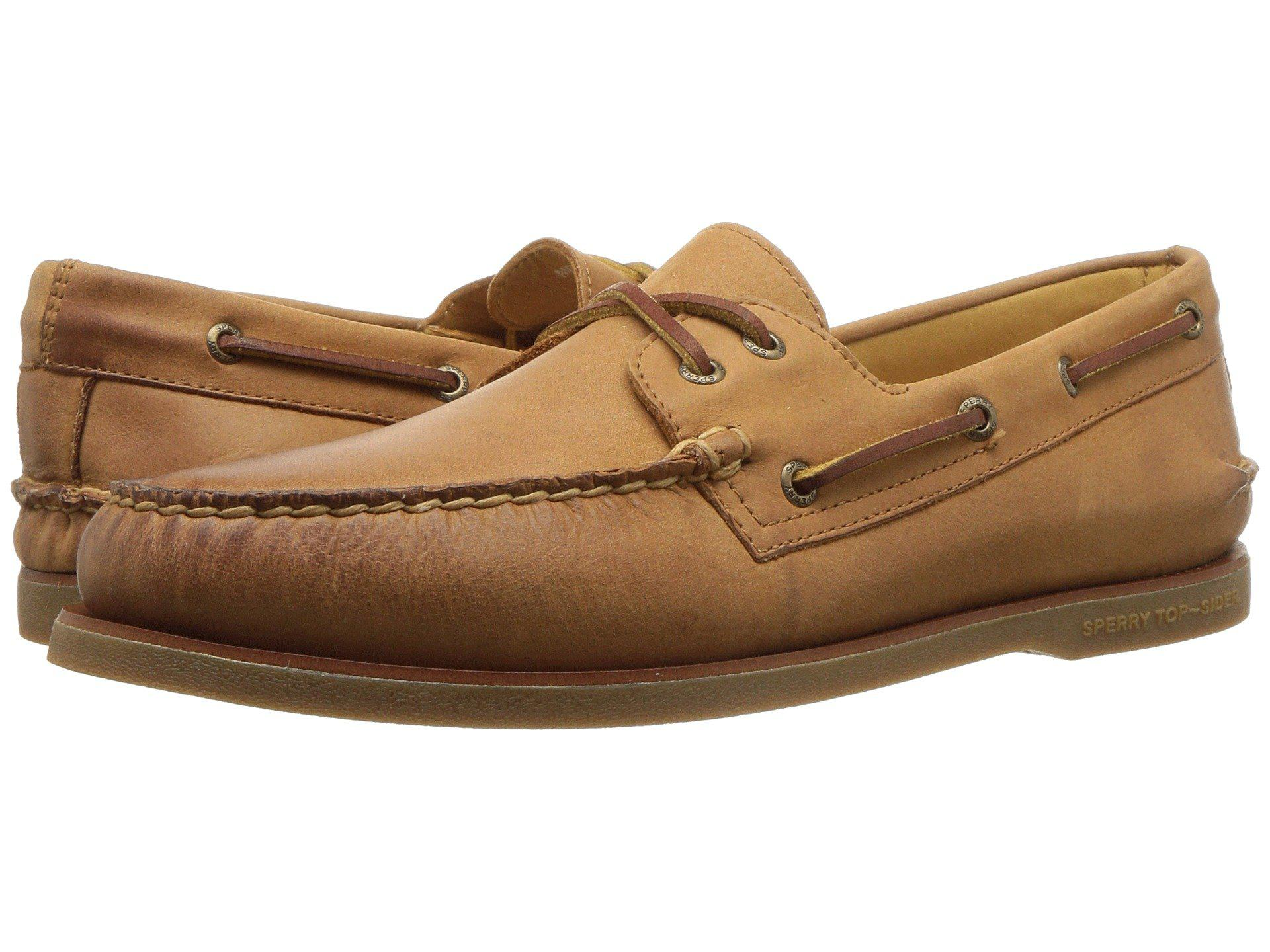bdab5568e0a Lyst - Sperry Top-Sider Gold A o 2-eye (ginger) Men s Lace Up Casual ...