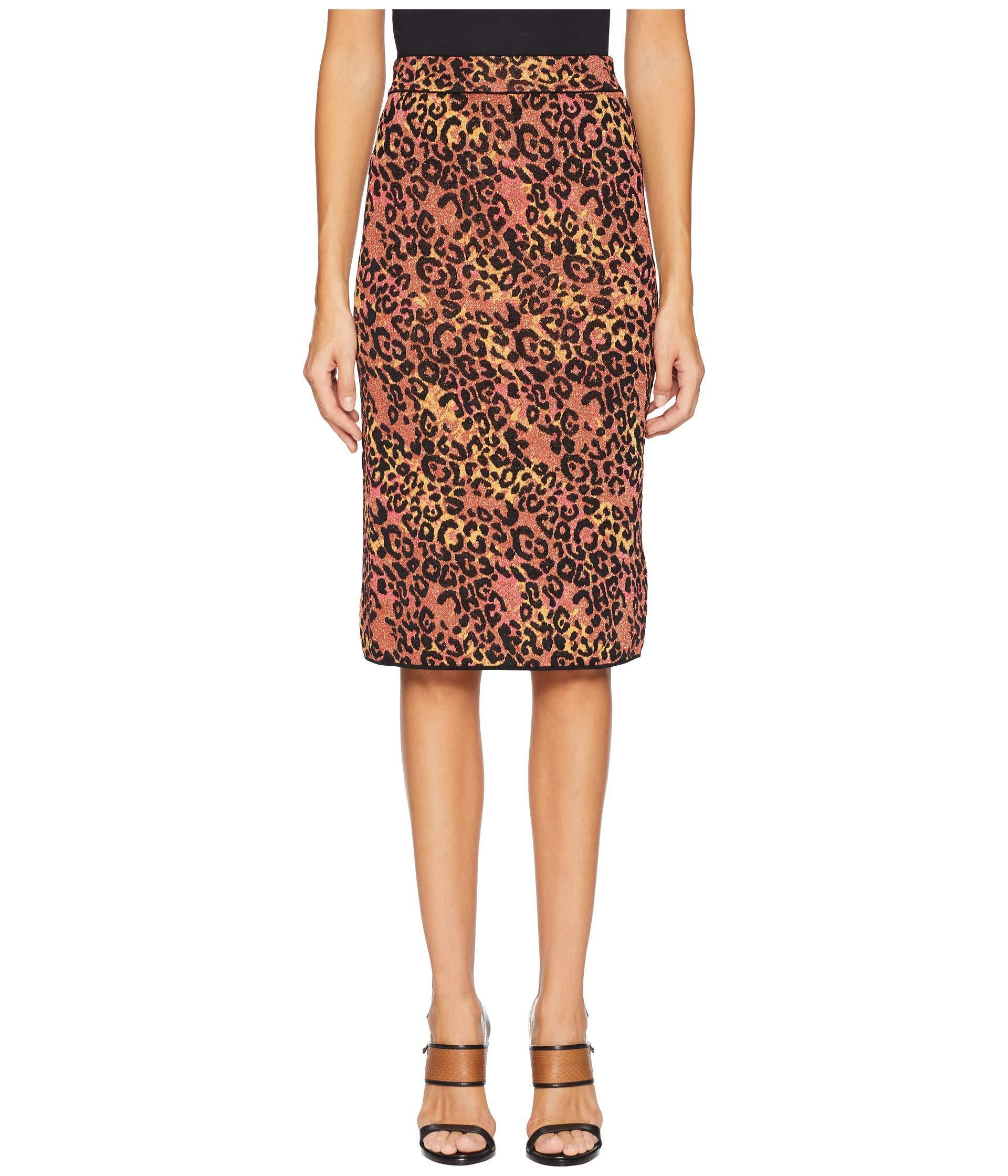 66af747da12422 Lyst - M Missoni Animal Lurex Skirt (brown) Women s Skirt in Brown