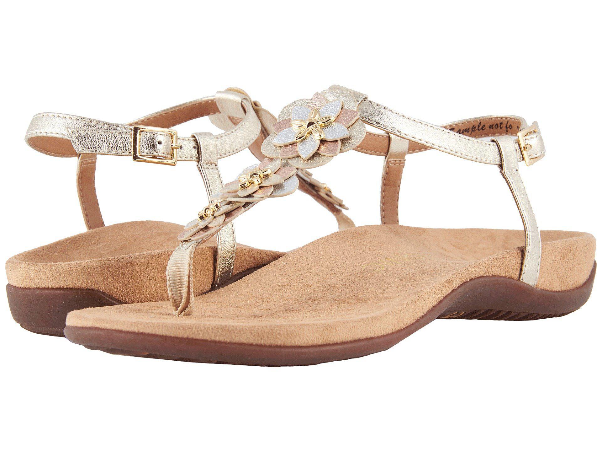 cc26746c791c Lyst - Vionic Paulie (champagne) Women s Sandals
