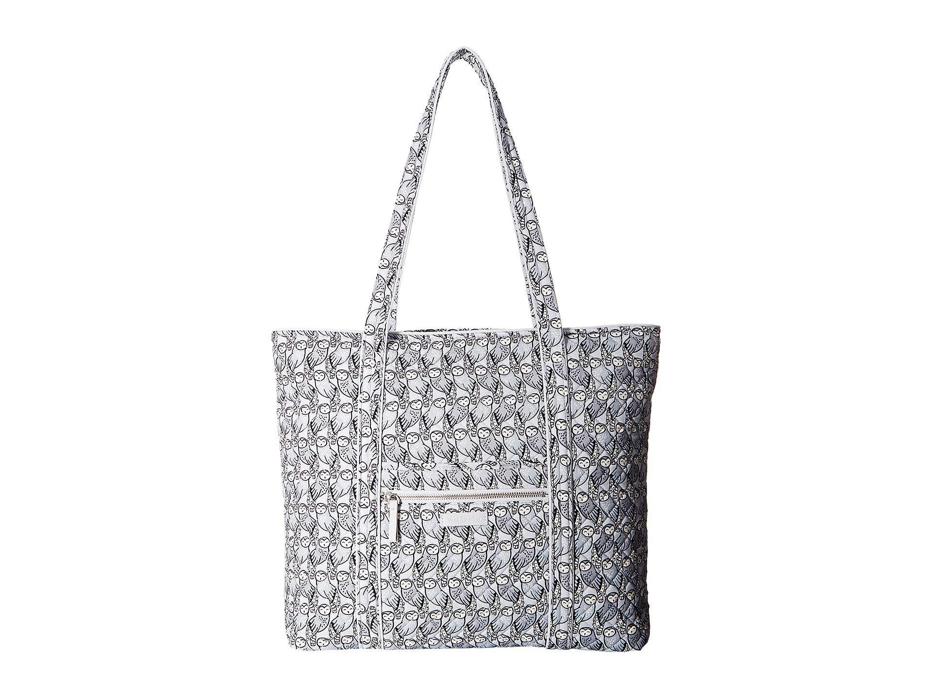 59e058b317 Lyst - Vera Bradley Iconic Vera Tote (bahama Bay) Tote Handbags in Gray