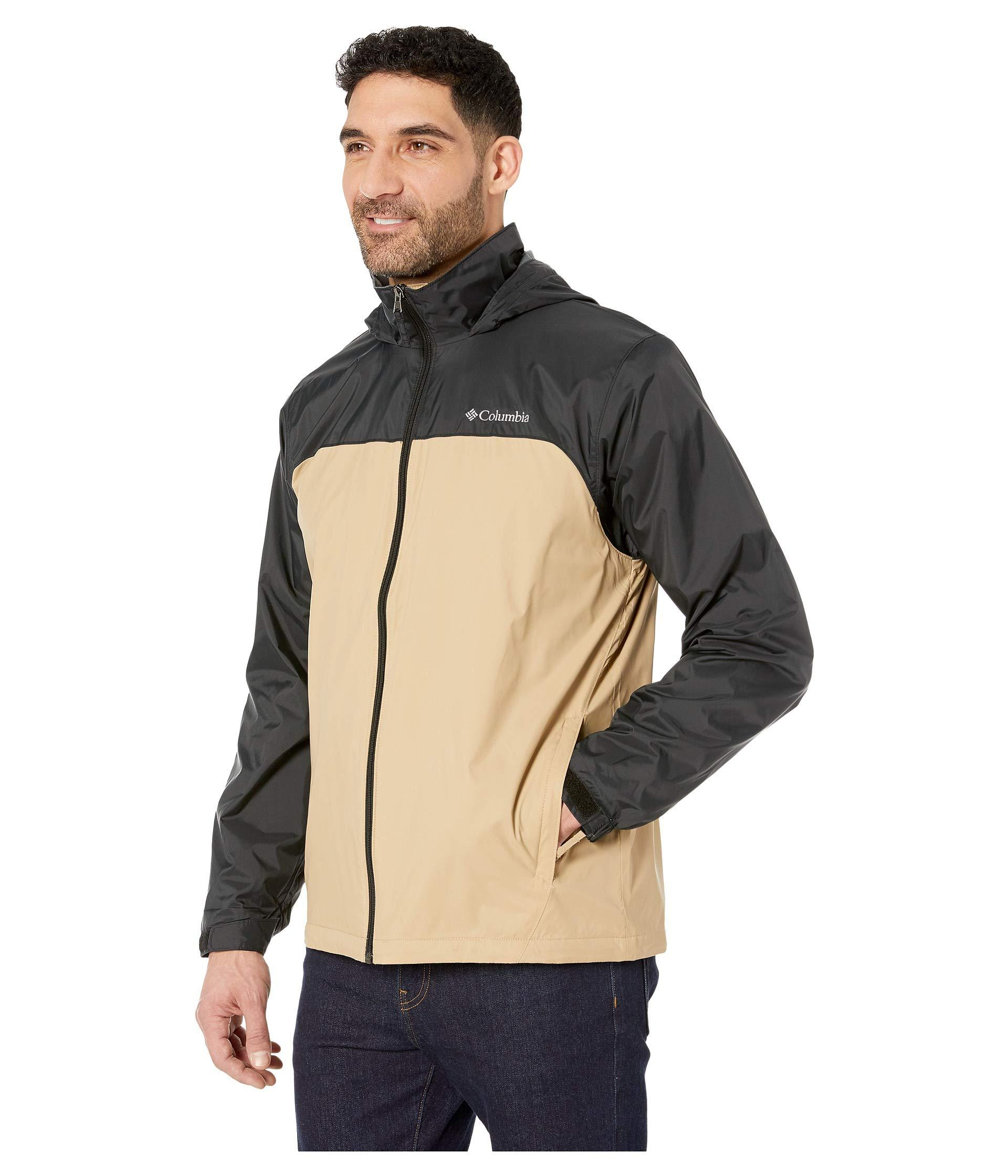 Waterproof /& Breathable Columbia mens Glennaker Lake Lined Rain Jacket