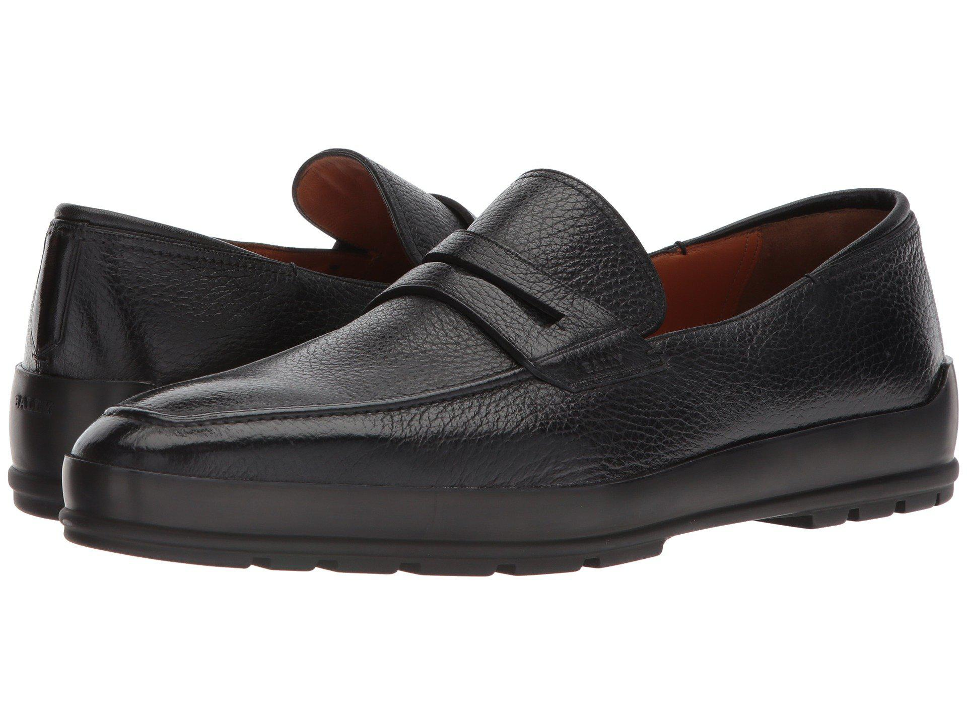 a456f947354 Lyst - Bally Relon City Penny Loafer in Black for Men