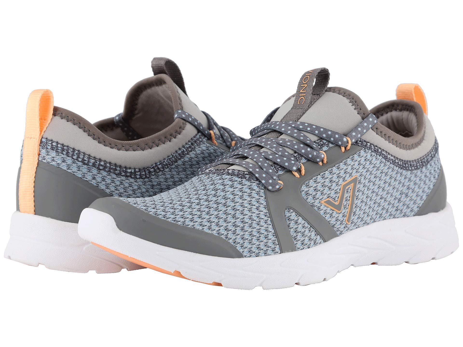 269ba86cba2 Lyst - Vionic Alma (black pink) Women s Shoes in Gray
