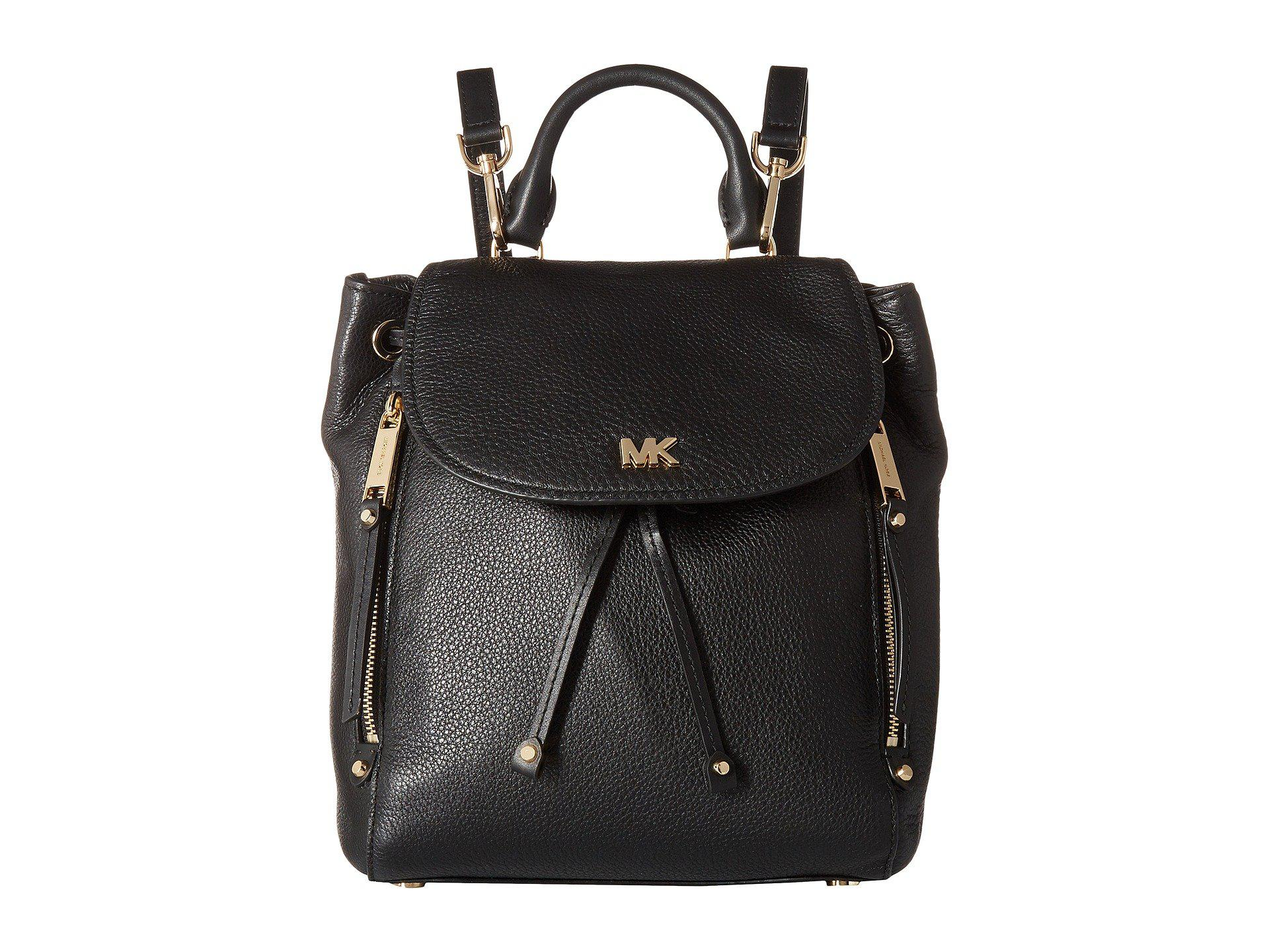 0a7b1742183378 MICHAEL Michael Kors Evie Small Backpack (black) Backpack Bags in ...