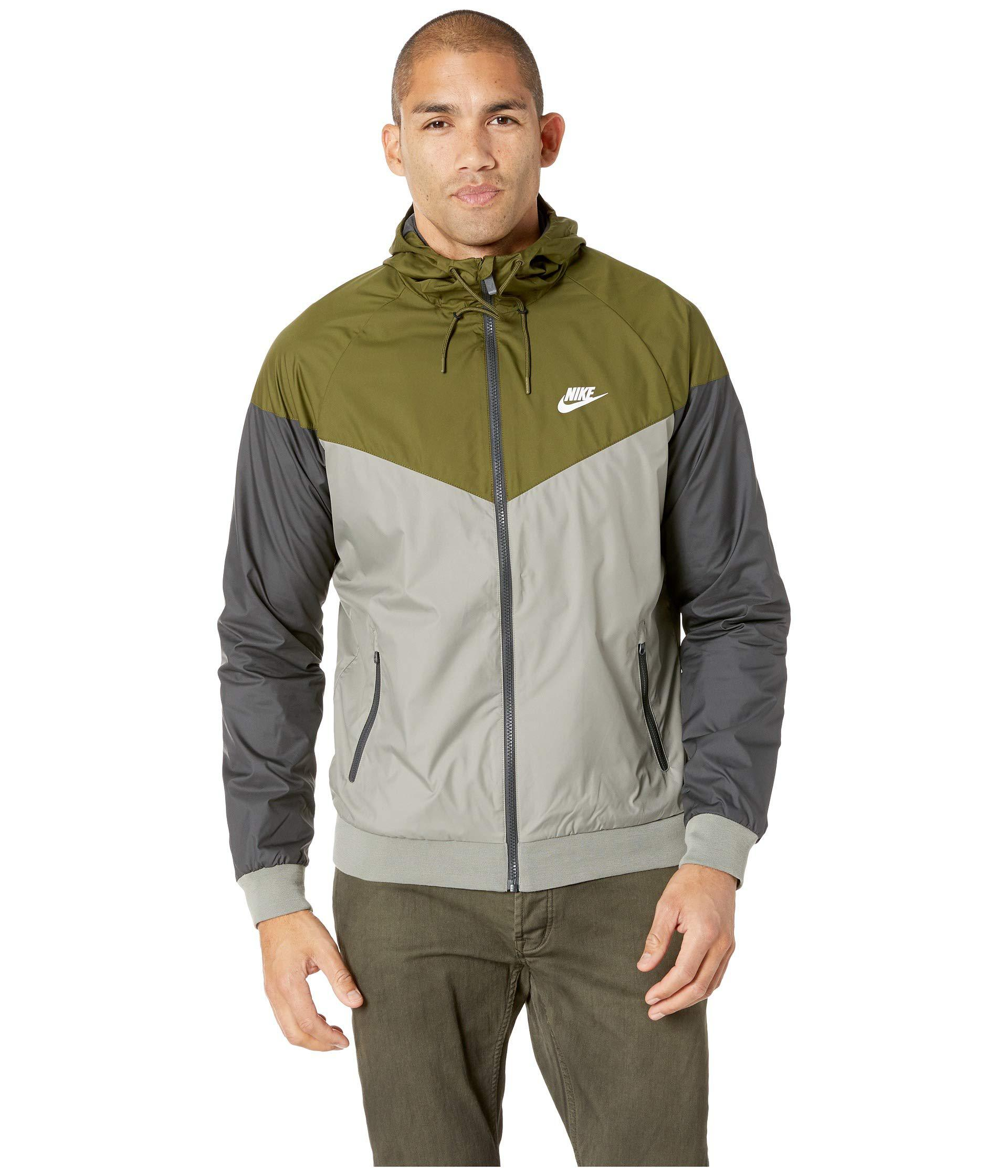 bcaea3d53358 Lyst - Nike Sportwear Windrunner Jacket (regency Purple blue Force ...