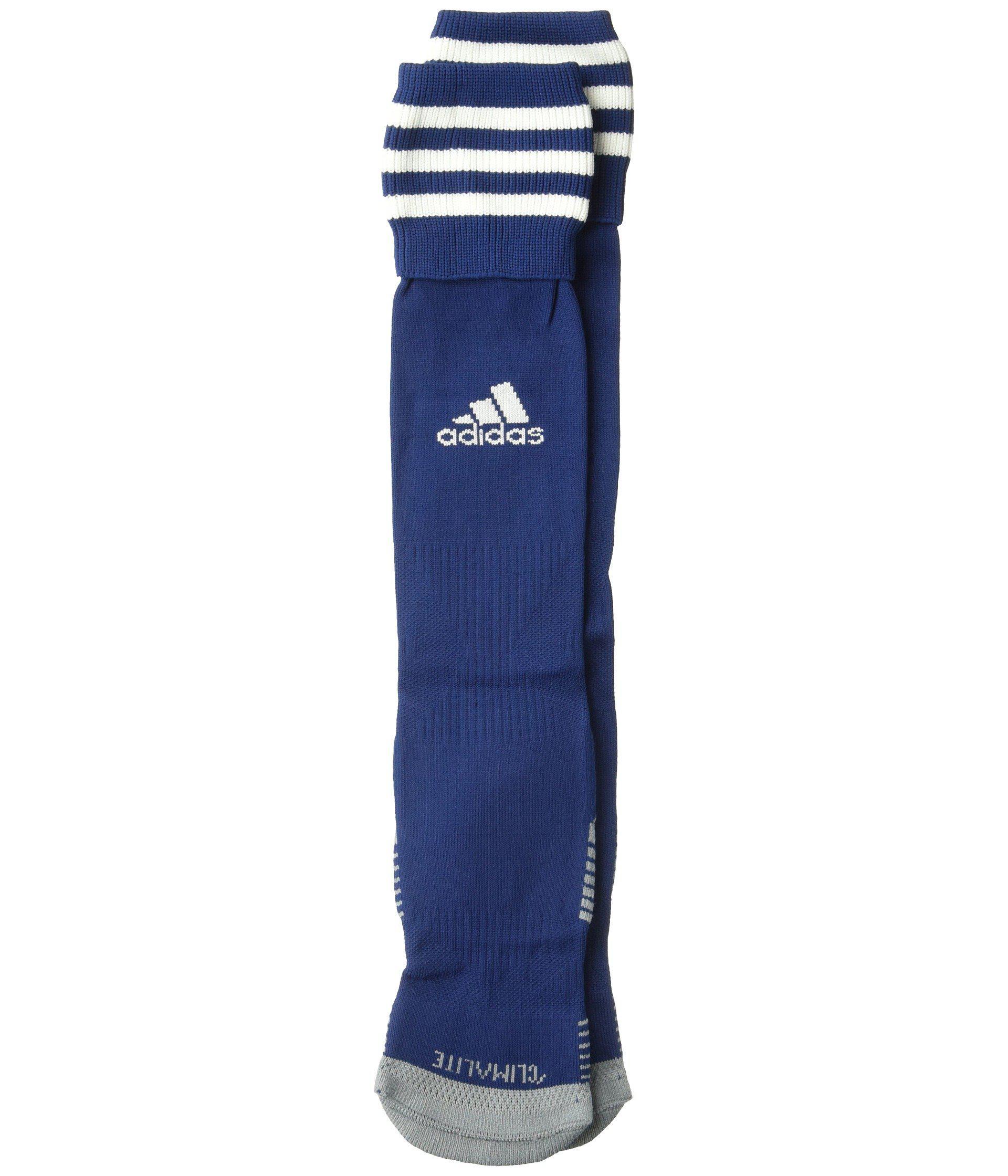 4366317a1 Lyst - adidas Copa Zone Cushion Iii Otc Sock (white/ Cobalt) Crew ...