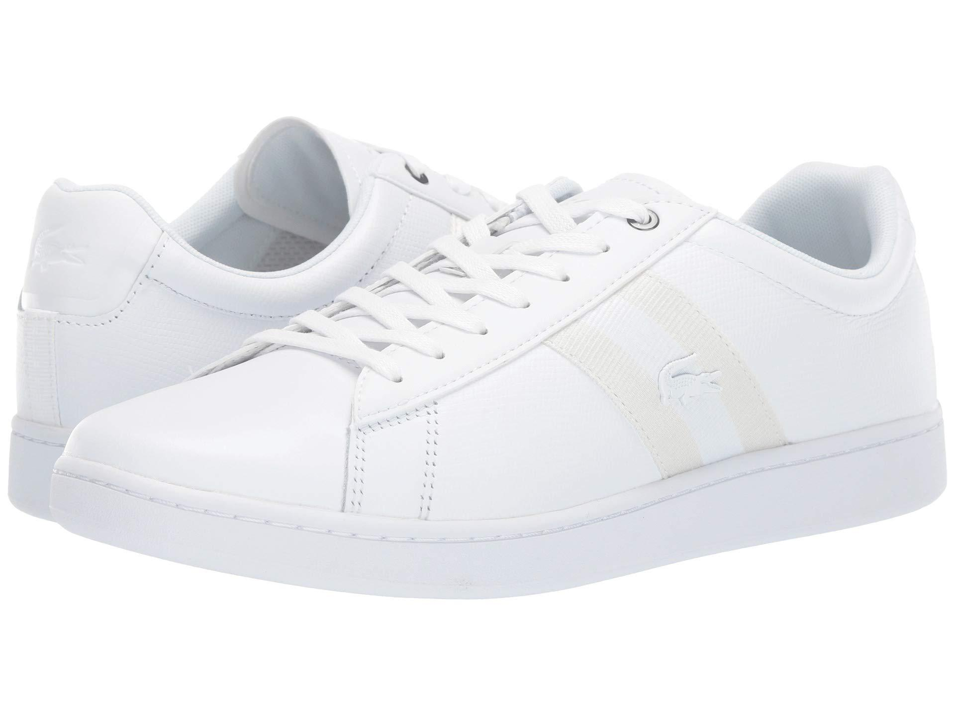 c93f916c9e Lacoste Carnaby Evo 119 5 Sma (white/white) Men's Shoes in White for ...