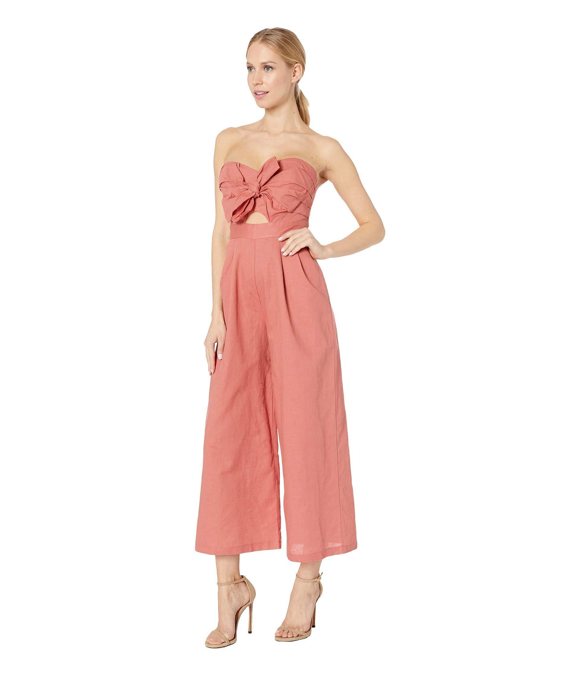 a9feba20967 Lyst - Astr Mara Jumpsuit (black white Stripe) Women s Jumpsuit   Rompers  One Piece in Pink