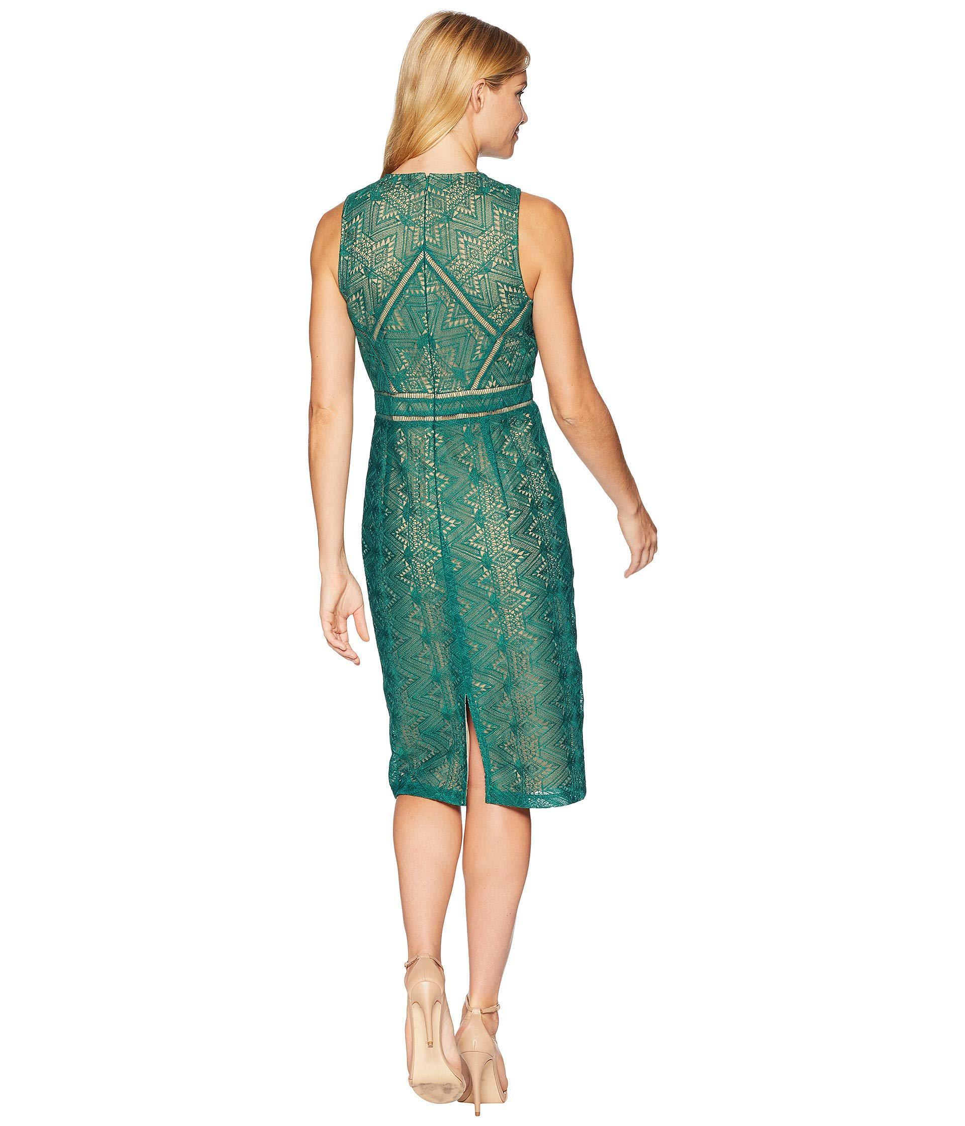 Eve Lace Dress Wild Green Dress