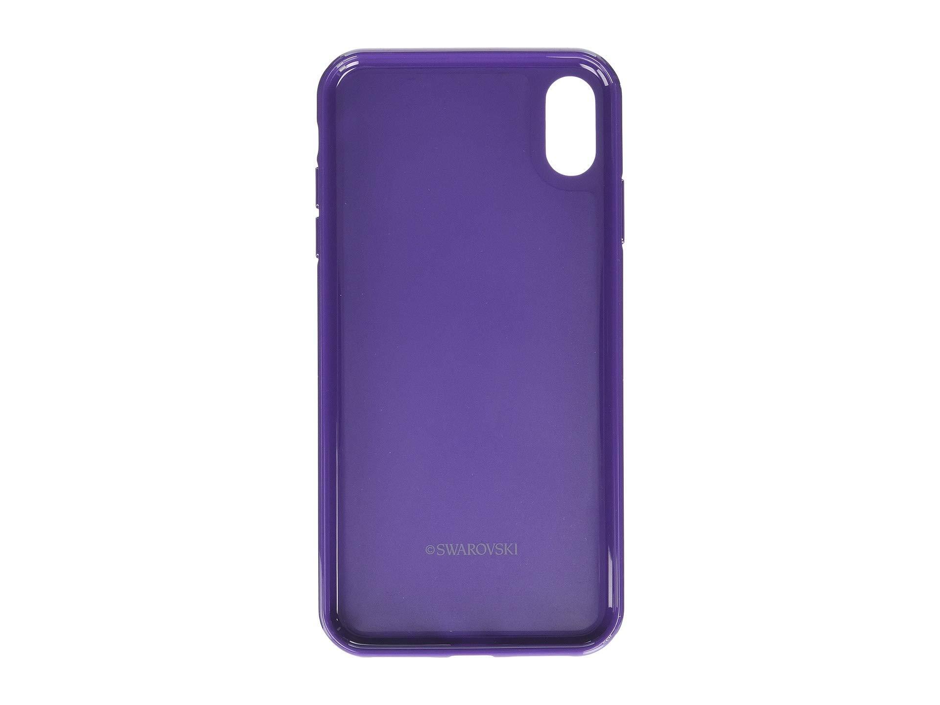 3b717880a9d5 Lyst - Swarovski Glam Rock Smartphone Case With Bumper