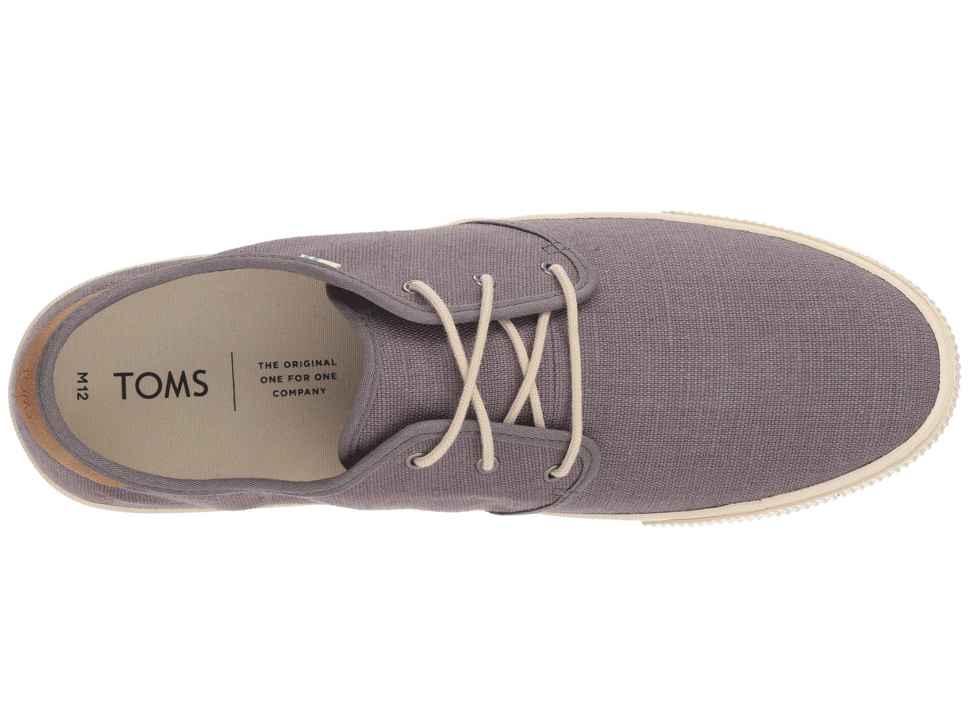 TOMS Carlo (shade Heritage Canvas) Lace