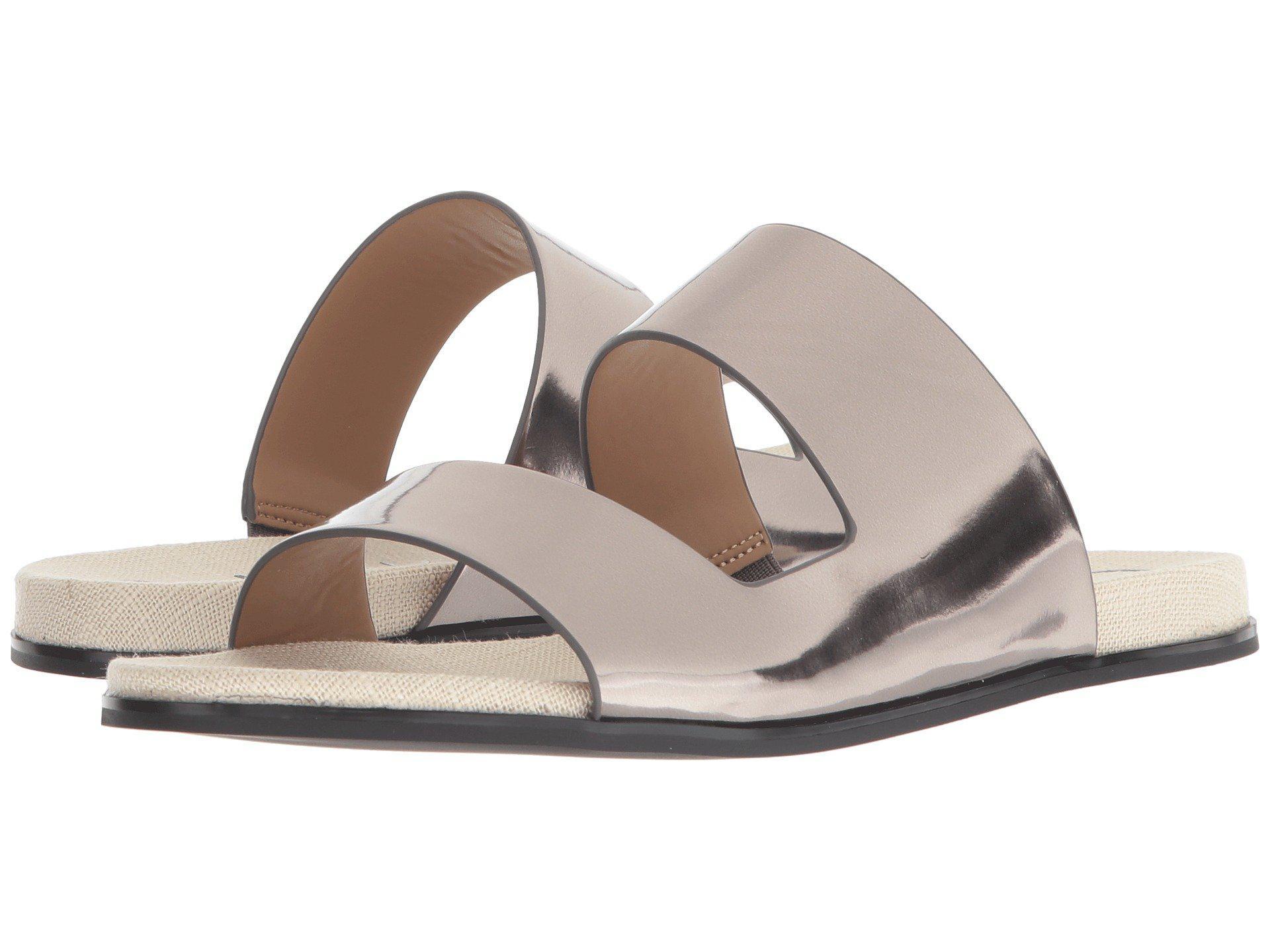Calvin Klein Posey Metallic Slide Sandal tjv9ErnbZH