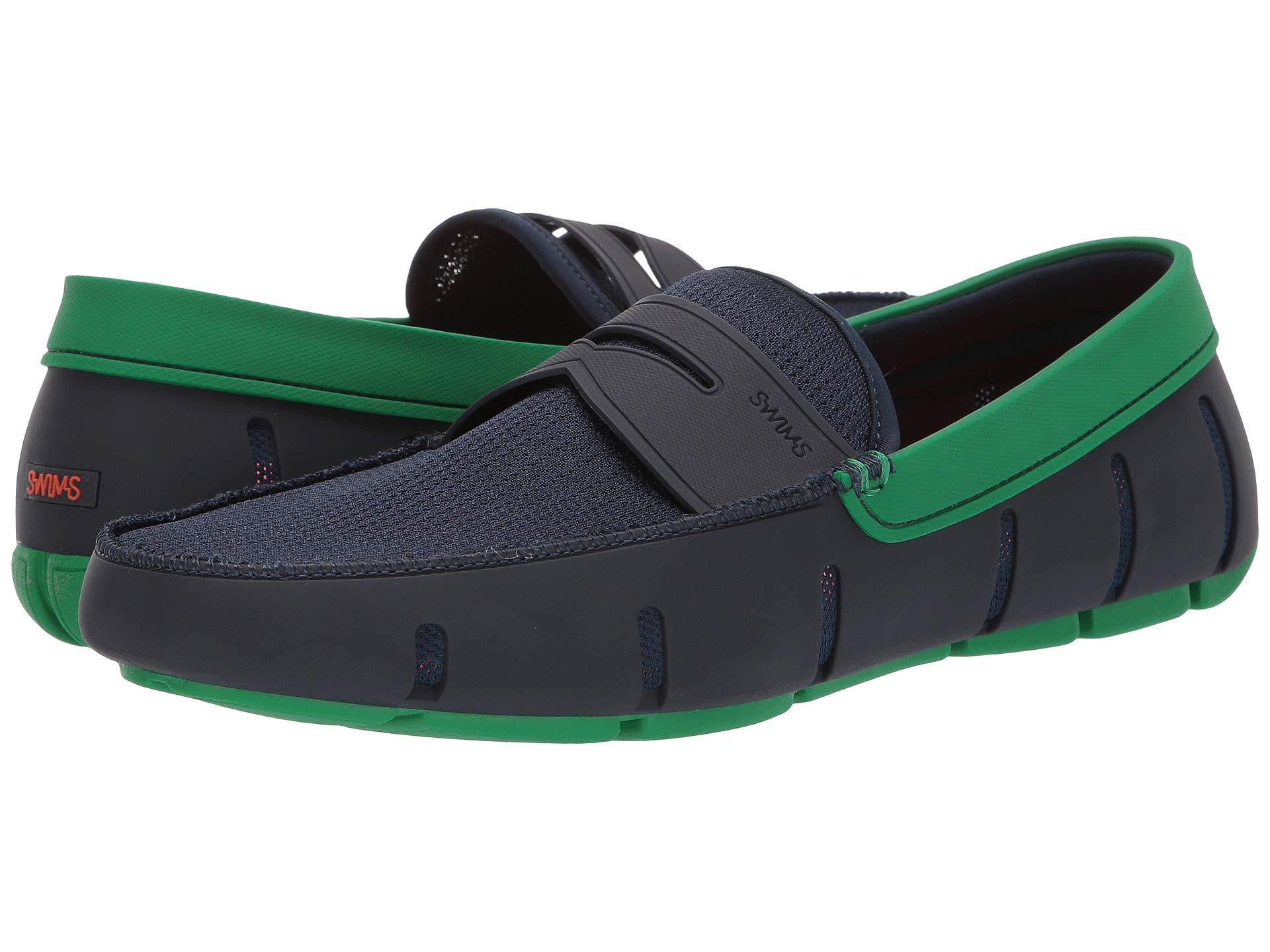 5af98f961d1 Lyst - Swims Penny Loafer (navy jolly Green) Men s Shoes in Blue for ...