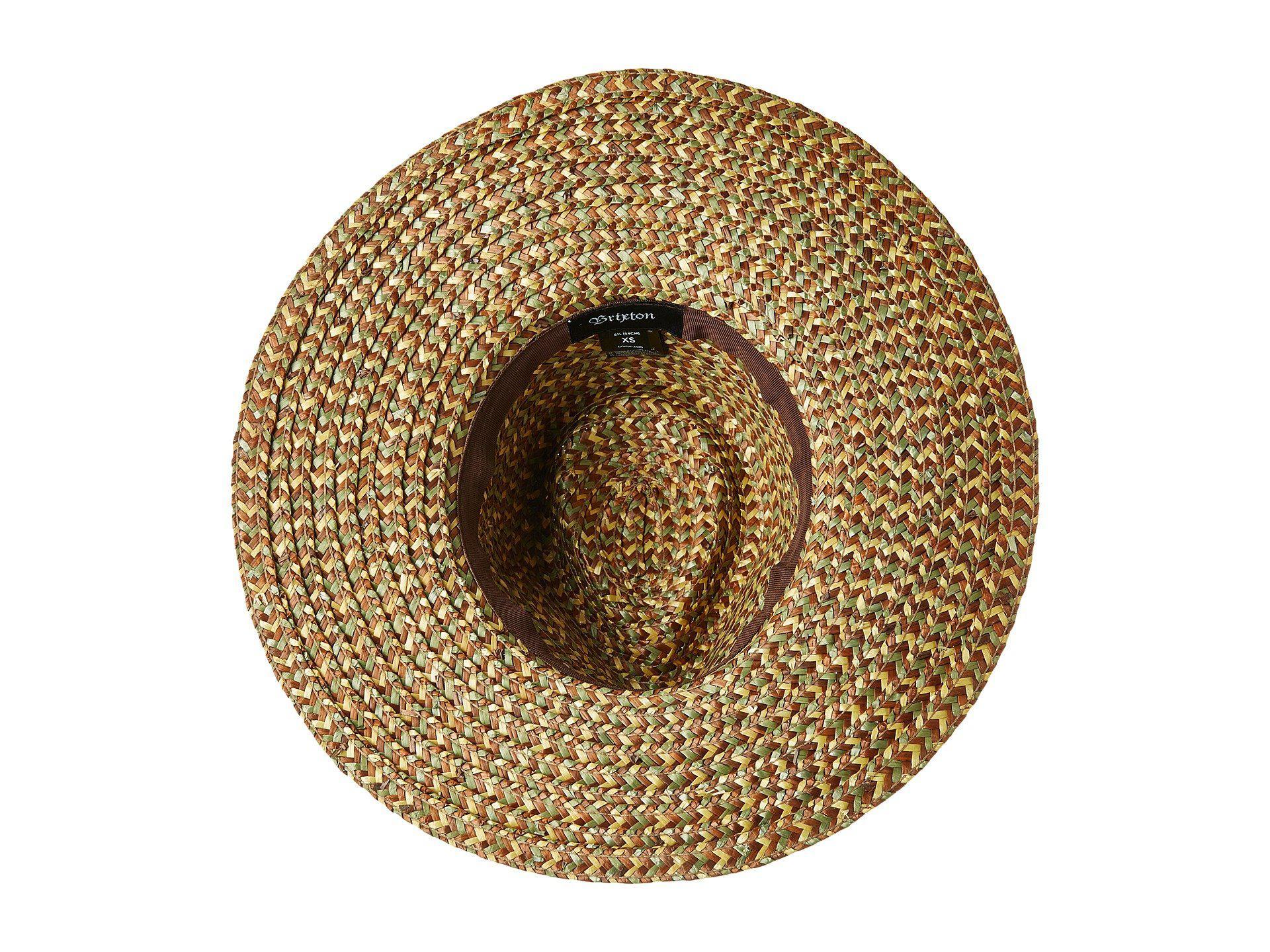 825087b9f96 Brixton - Metallic Joanna Hat (washed Black brown) Caps - Lyst. View  fullscreen