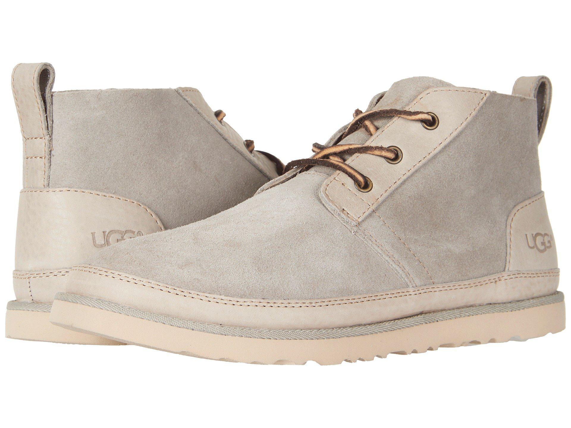 8f3cc0866e7 Ugg Multicolor Neumel Unlined Leather (chestnut) Men's Shoes for men