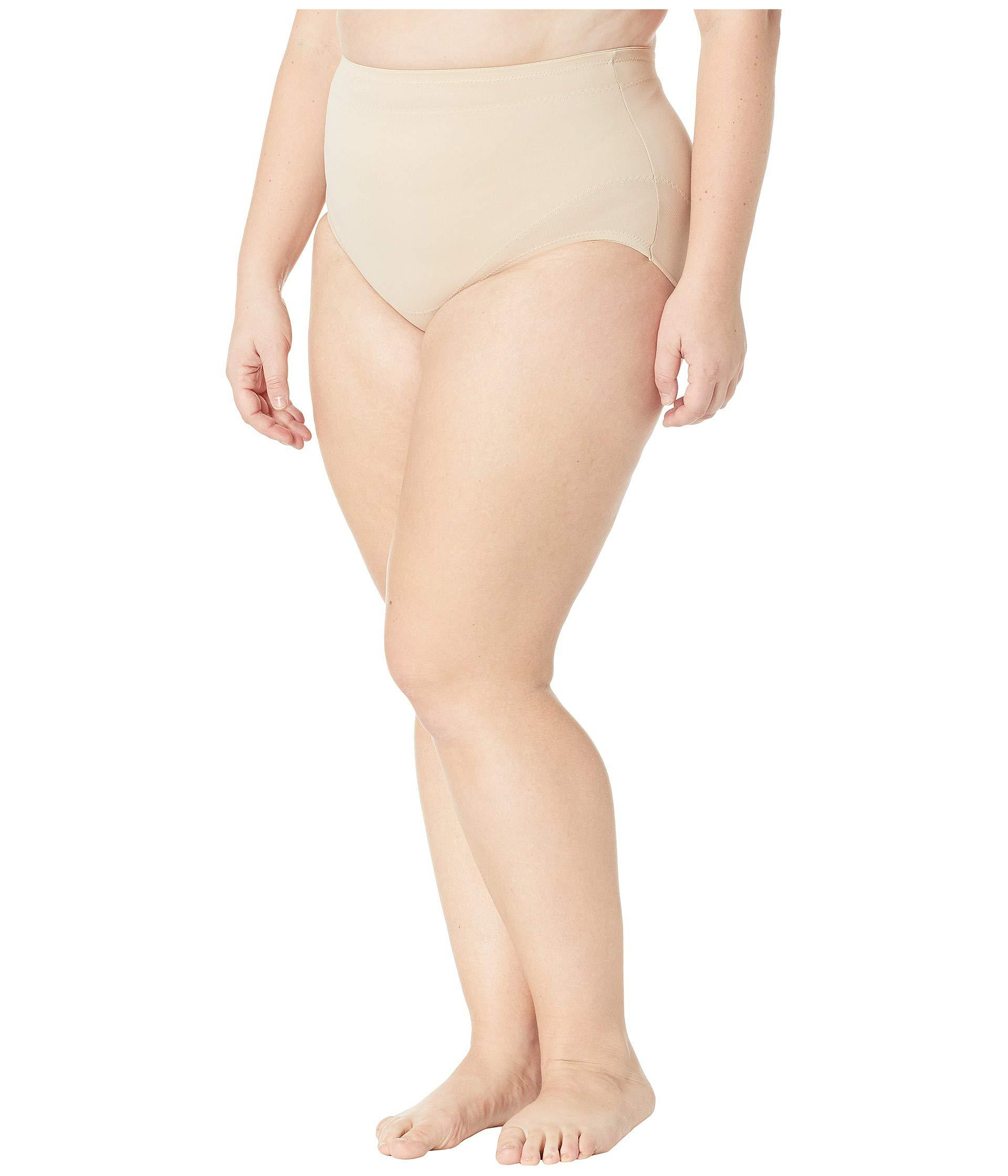426cd4ab5 Miraclesuit Plus Size Extra Firm Control Waistline Brief (black) Women s  Underwear in Natural - Lyst