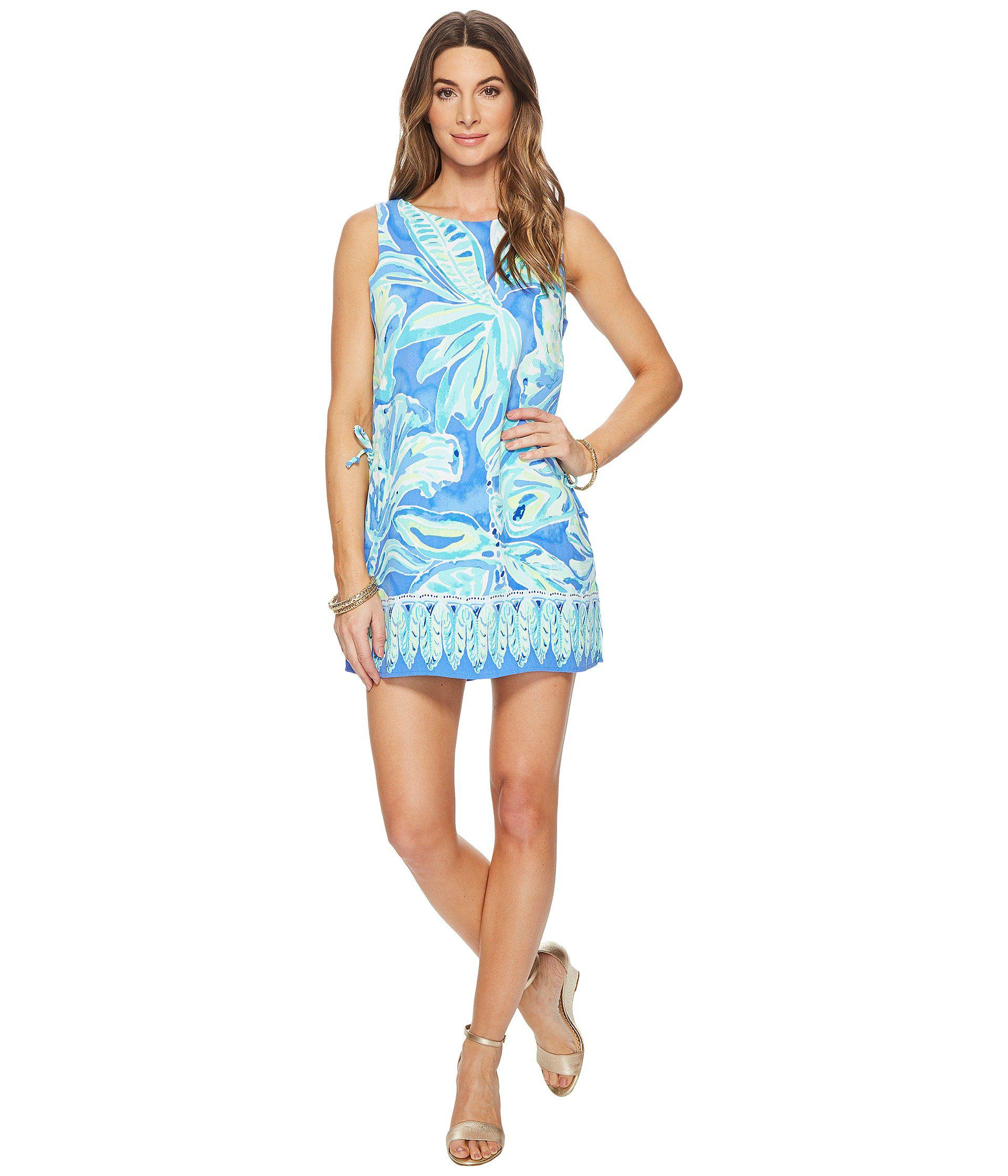 fe0ad63bee5d Lyst - Lilly Pulitzer Donna Romper in Blue