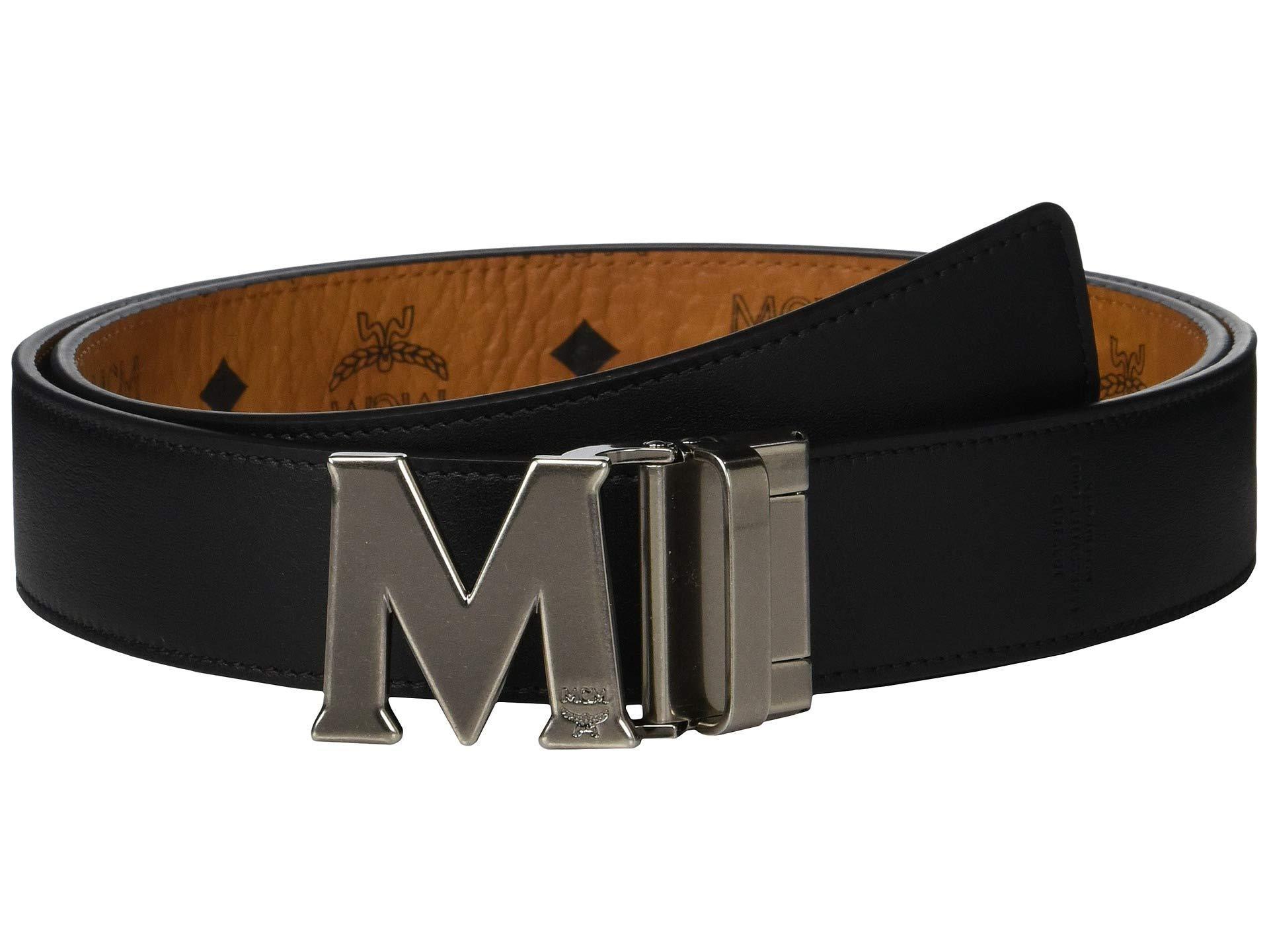 6fc1554f621c MCM - Multicolor Claus Reversible Belt (black) Men s Belts for Men - Lyst.  View fullscreen