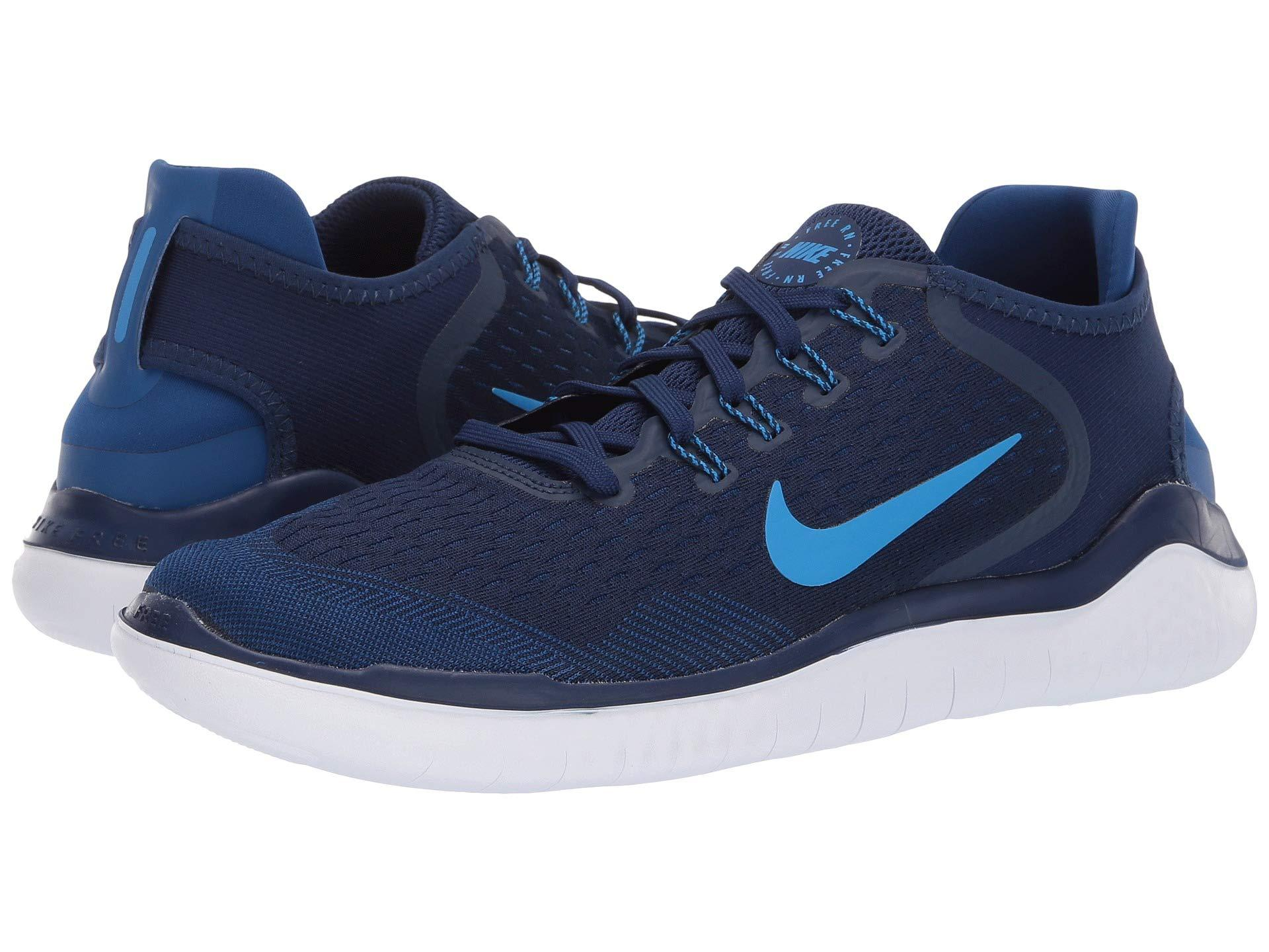 17a515e11279 Lyst - Nike Free Rn 2018 Running Shoes in Blue for Men