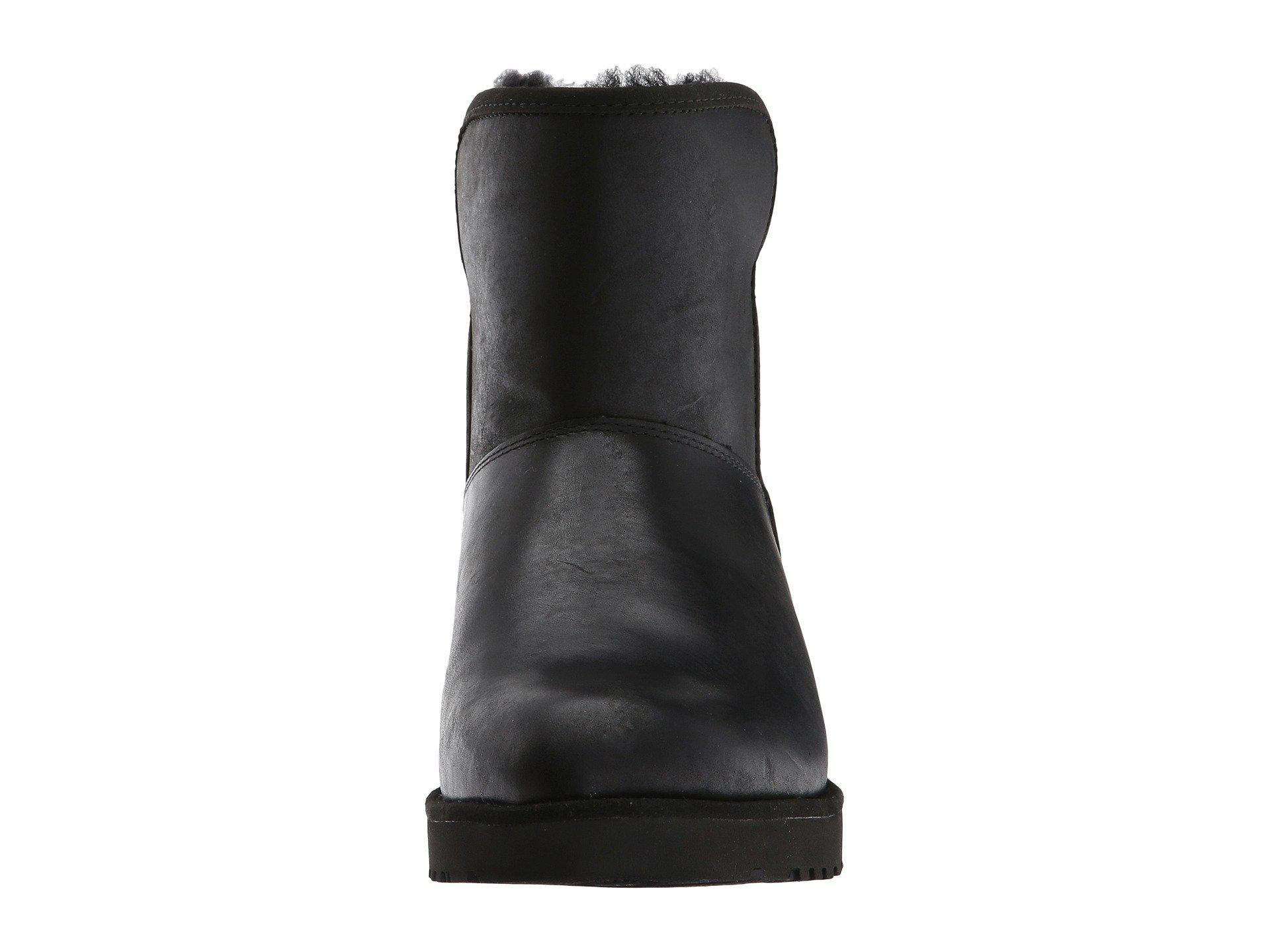 b4bbacf18d6 Ugg Black Kristin Leather