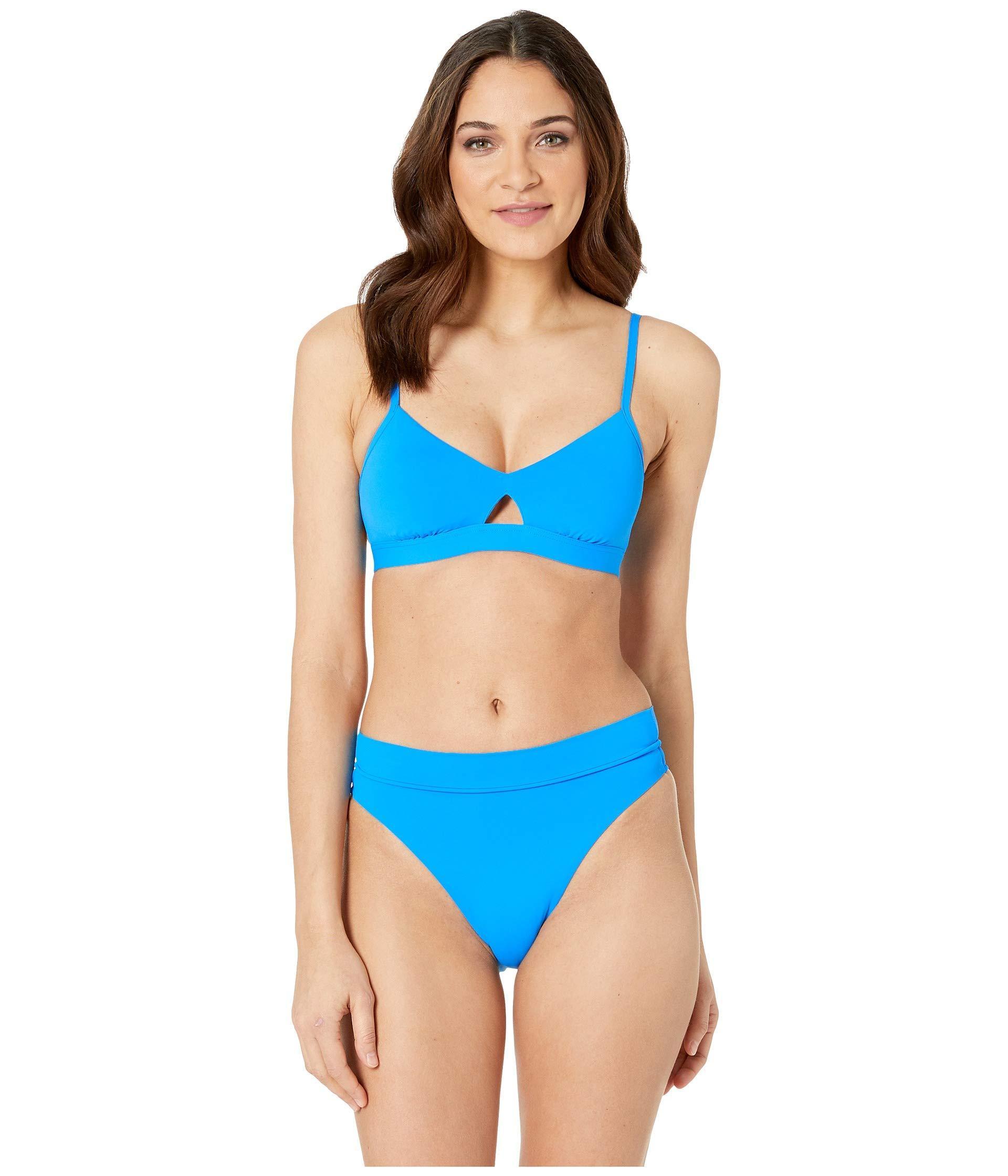 c6a9f47a023 Seafolly - Blue Active Hybrid Bralette Top (buttercup) Women s Swimwear -  Lyst. View fullscreen