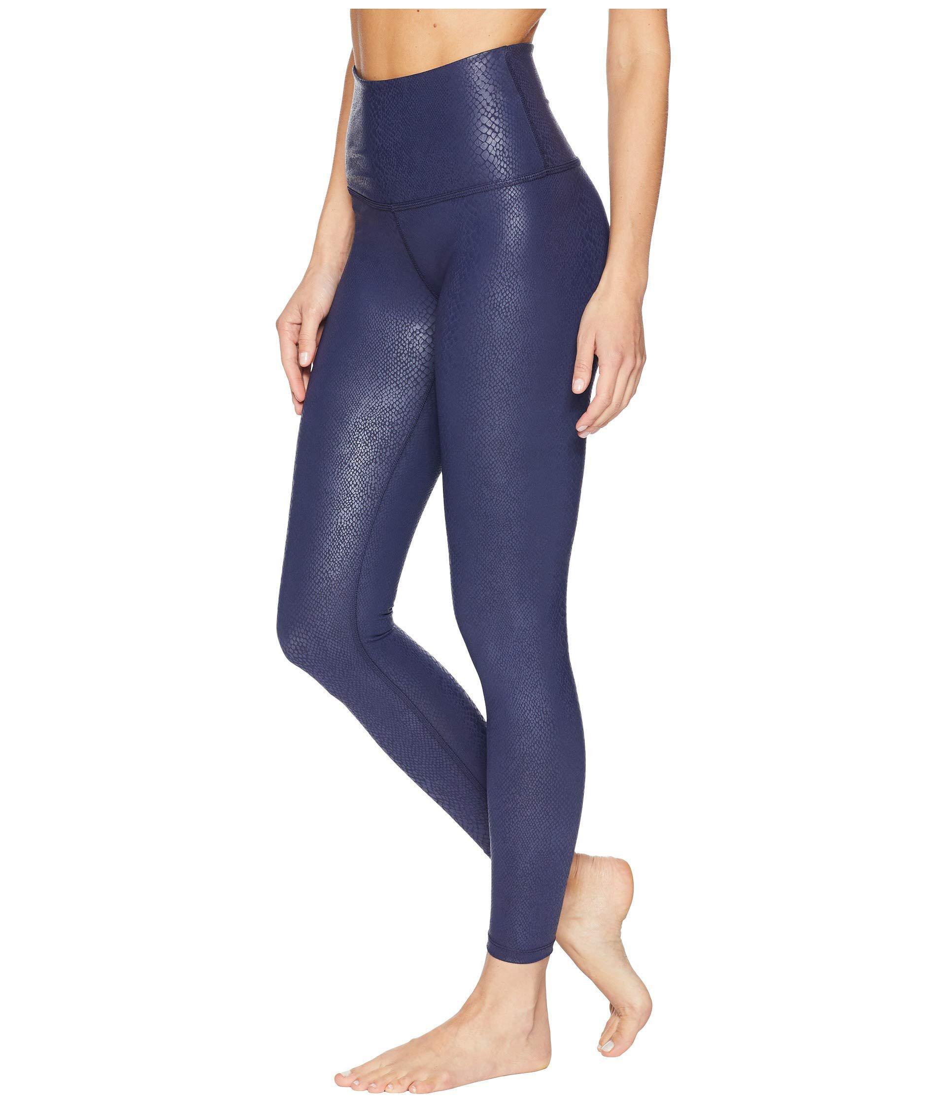 45a3e9ff4aa21 Beyond Yoga Viper High-waisted Midi Leggings (viper Black) Women's ...