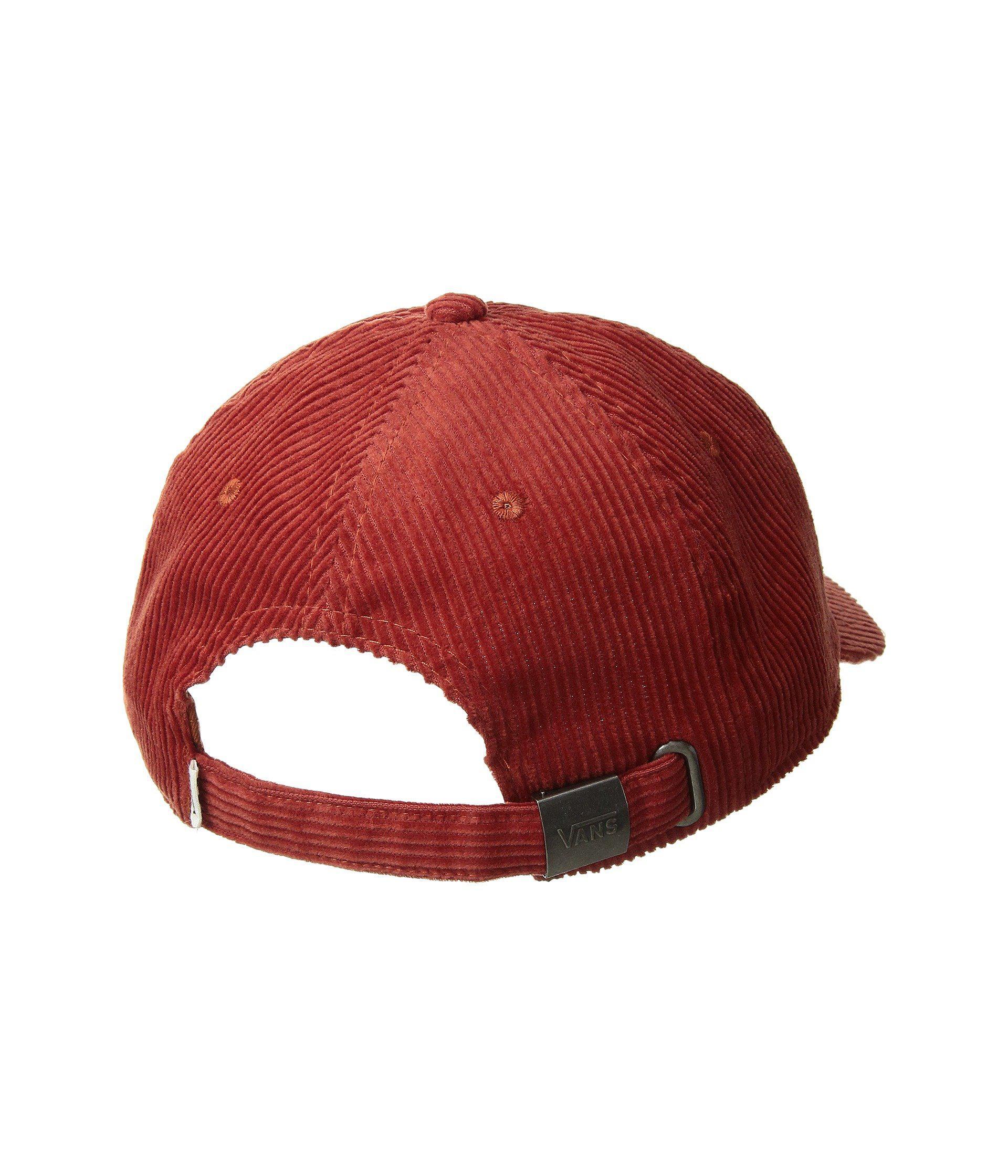 37789a364f Vans Red Summit Court Side Hat (black) Baseball Caps