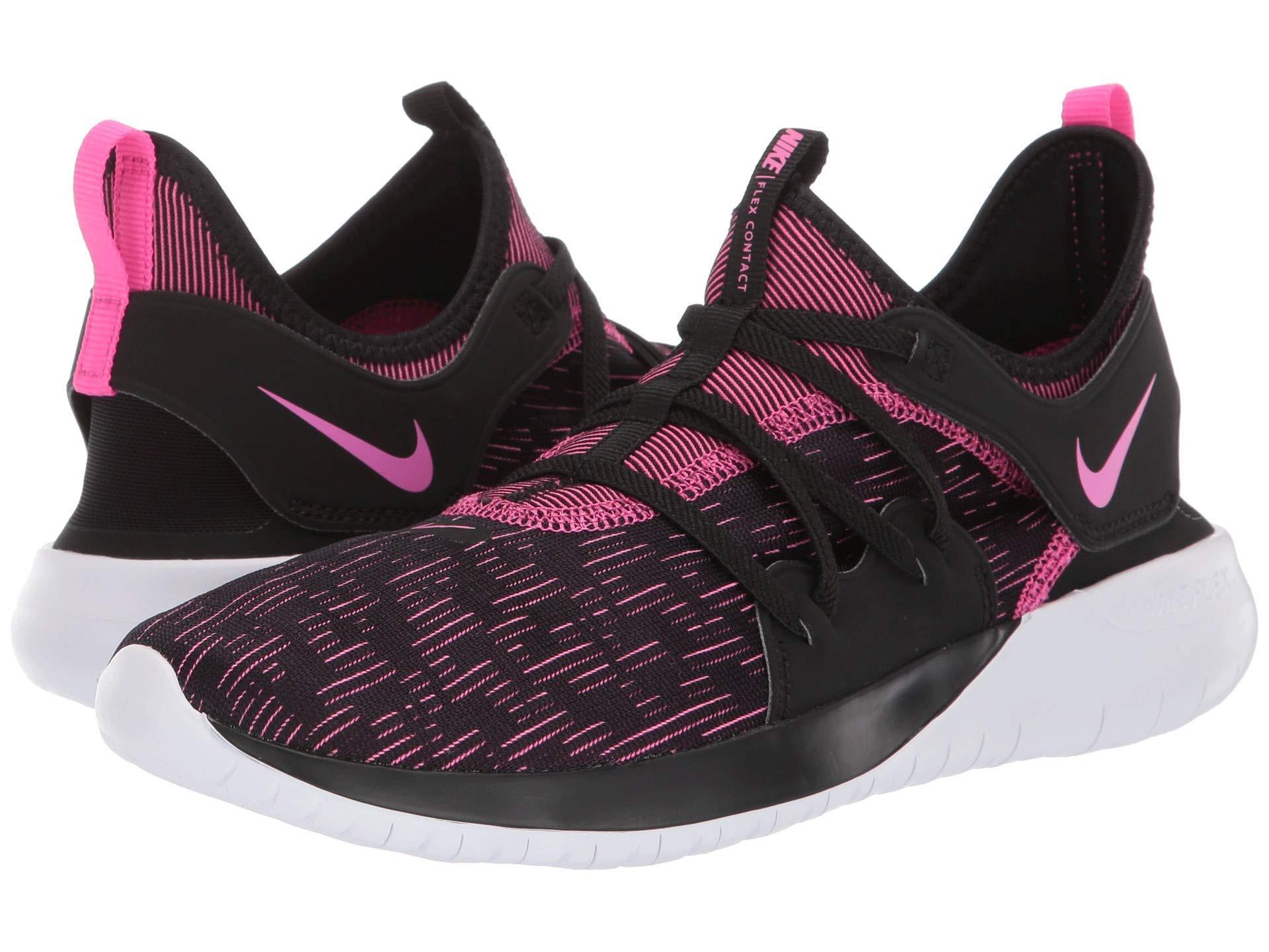 f856388d62a1 Nike - Flex Contact 3 (black laser Fuchsia white) Women s Running Shoes.  View fullscreen